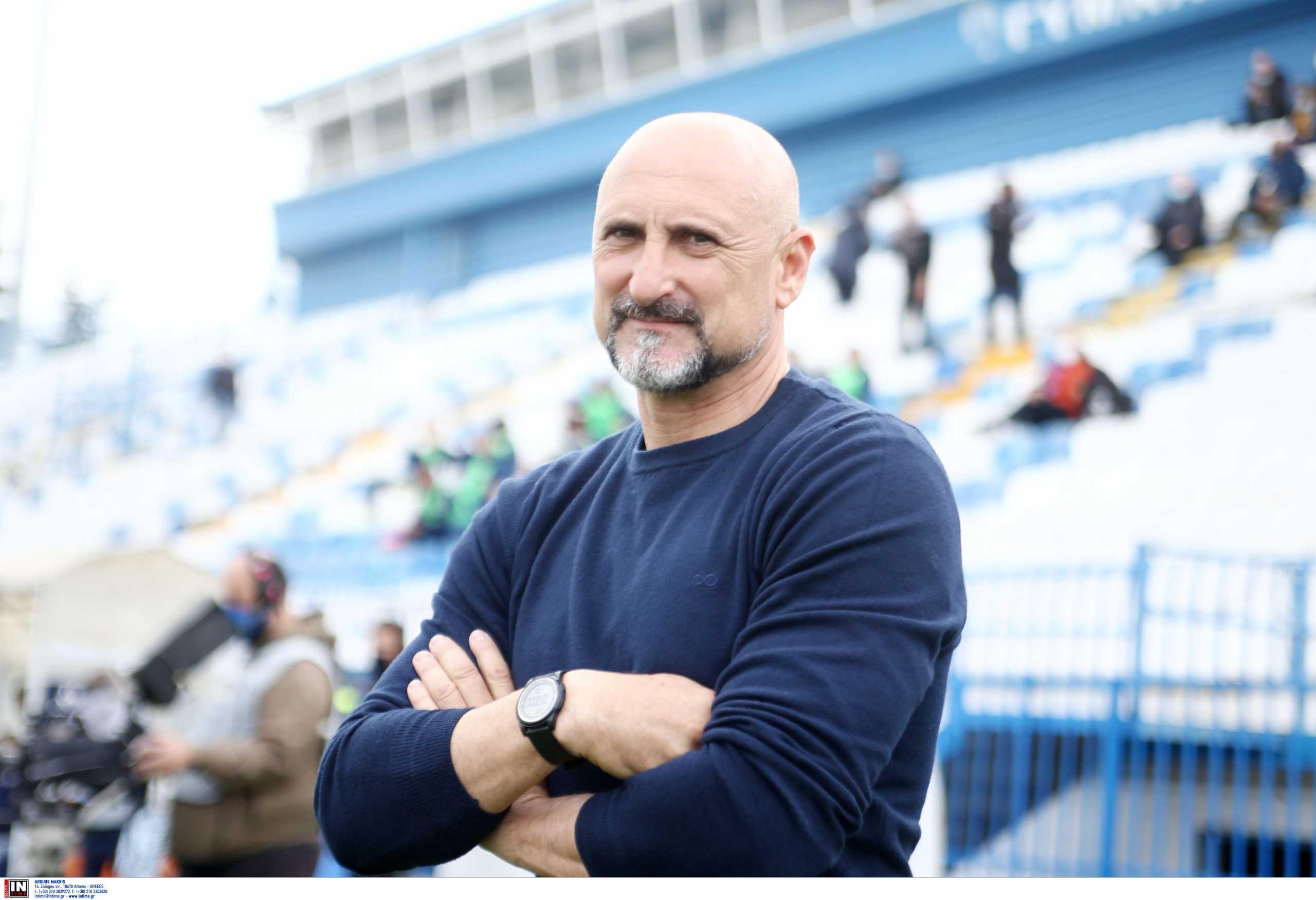 Απόλλων Σμύρνης: Ανακοίνωσε Τζιανλούκα Φέστα για προπονητή