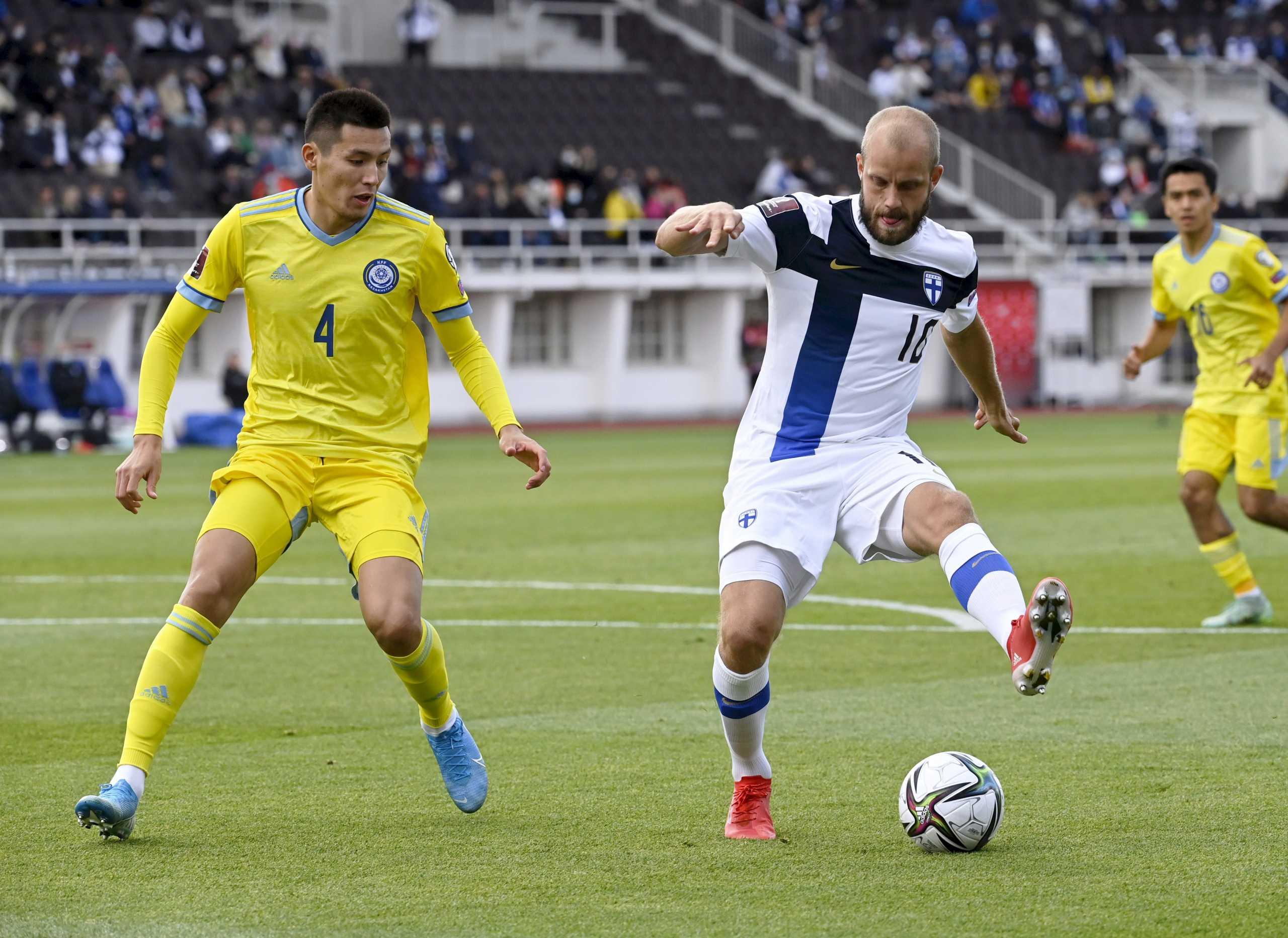 Φινλανδία – Καζακστάν 1-0: Πρώτη νίκη στα προκριματικά του Παγκοσμίου Κυπέλλου