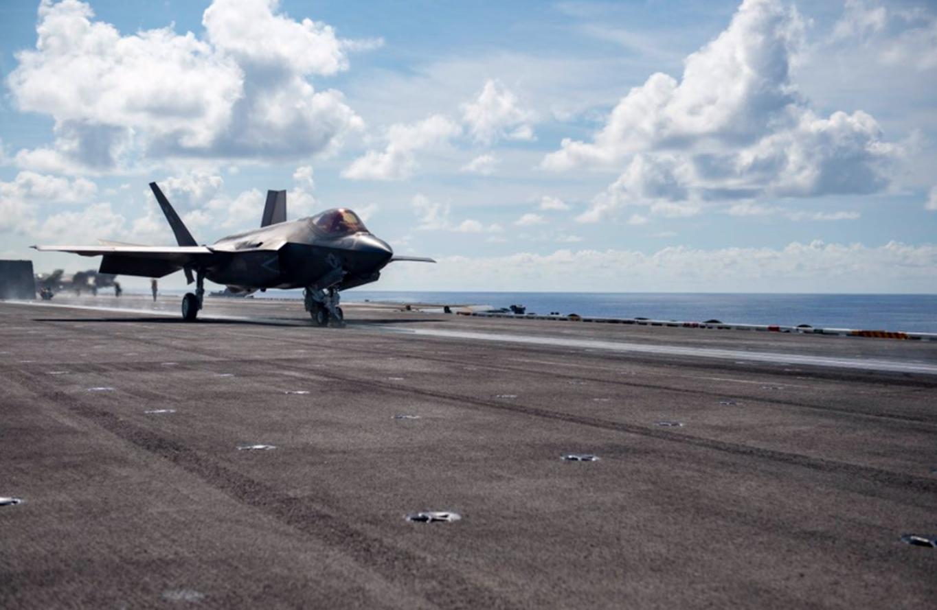 «Σε επιφυλακή» η Κίνα για τα F-35C: Θέλει να «εκθέσει» τα stealth μαχητικά των ΗΠΑ!