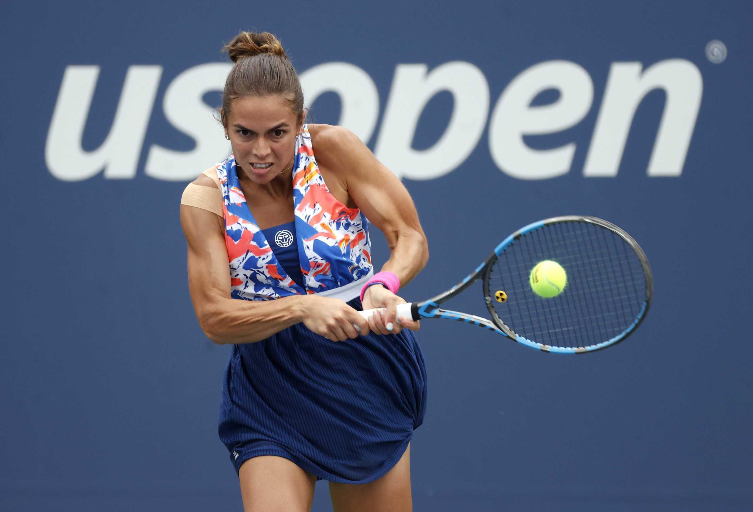 US Open: Πάλεψε αλλά «λύγισε» και αποκλείστηκε η Γραμματικοπούλου