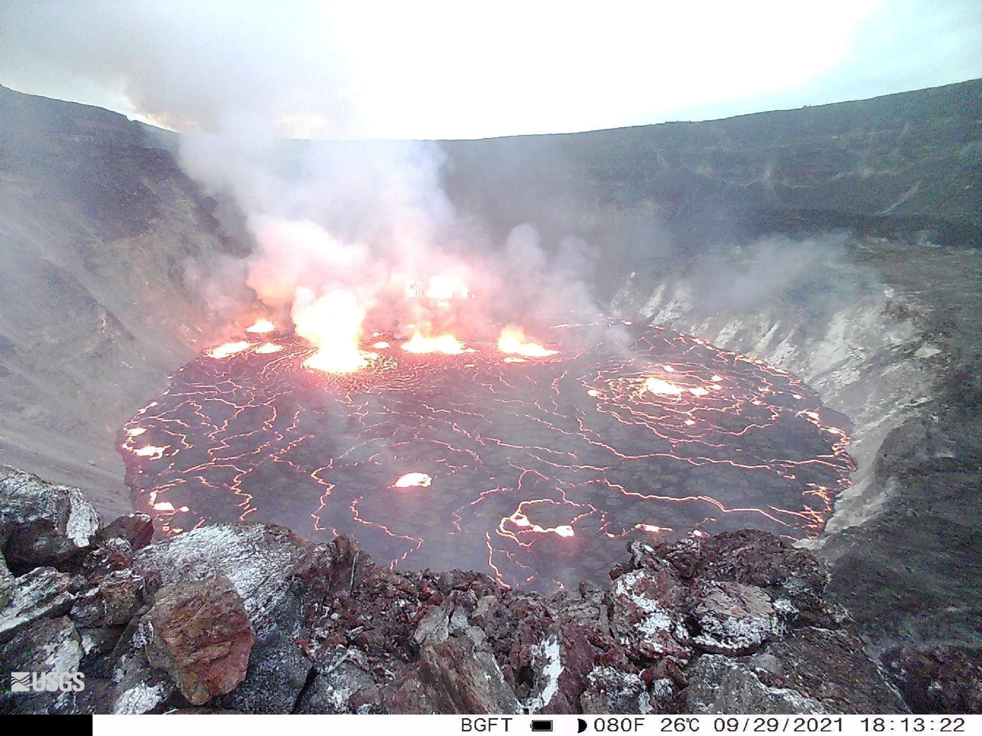 Έκρηξη ηφαιστείου στη Χαβάη: Η στιγμή που «ξύπνησε» το Κιλαουέα