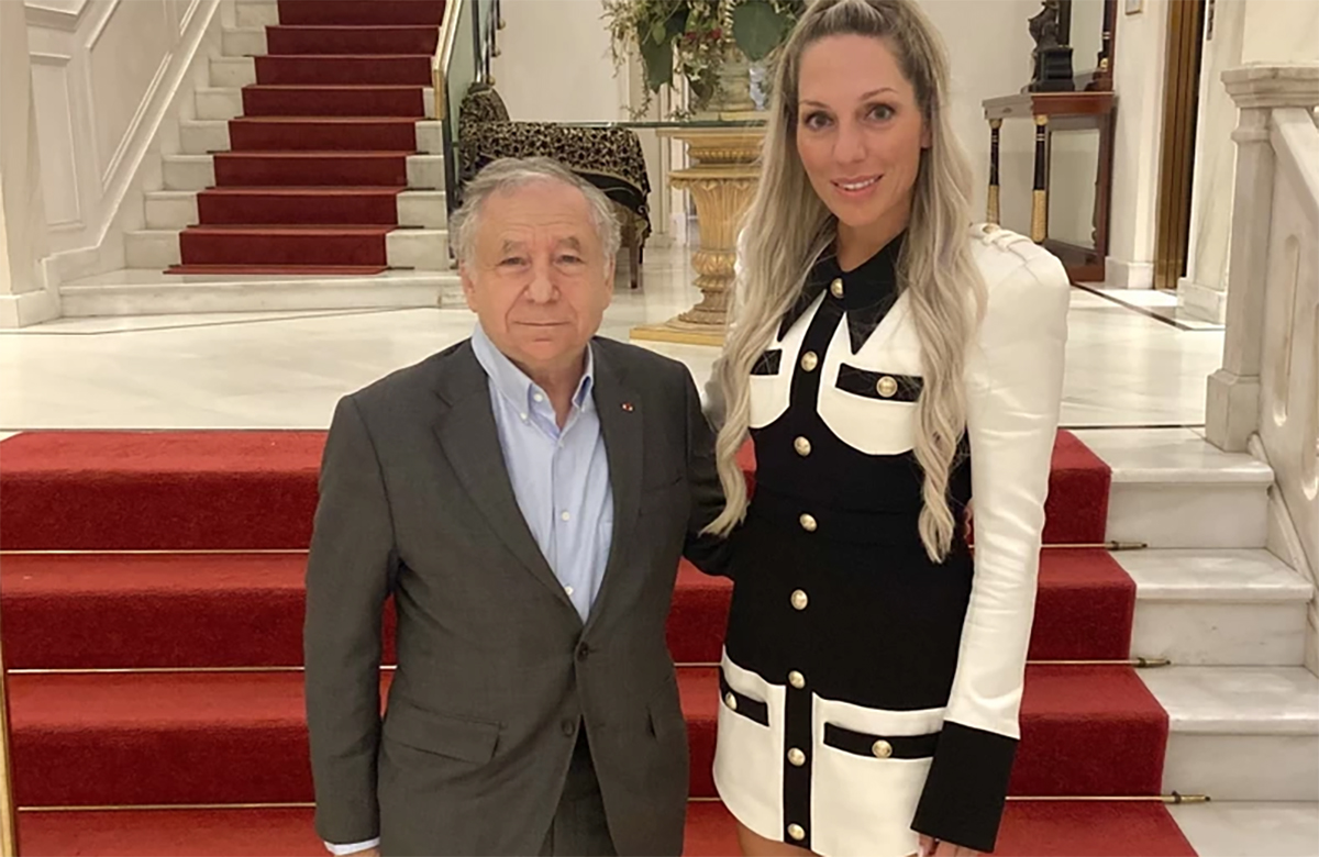 Ράλι Ακρόπολις: Ο Ζαν Τοντ στην Αθήνα με την Ρόη Αποστολοπούλου
