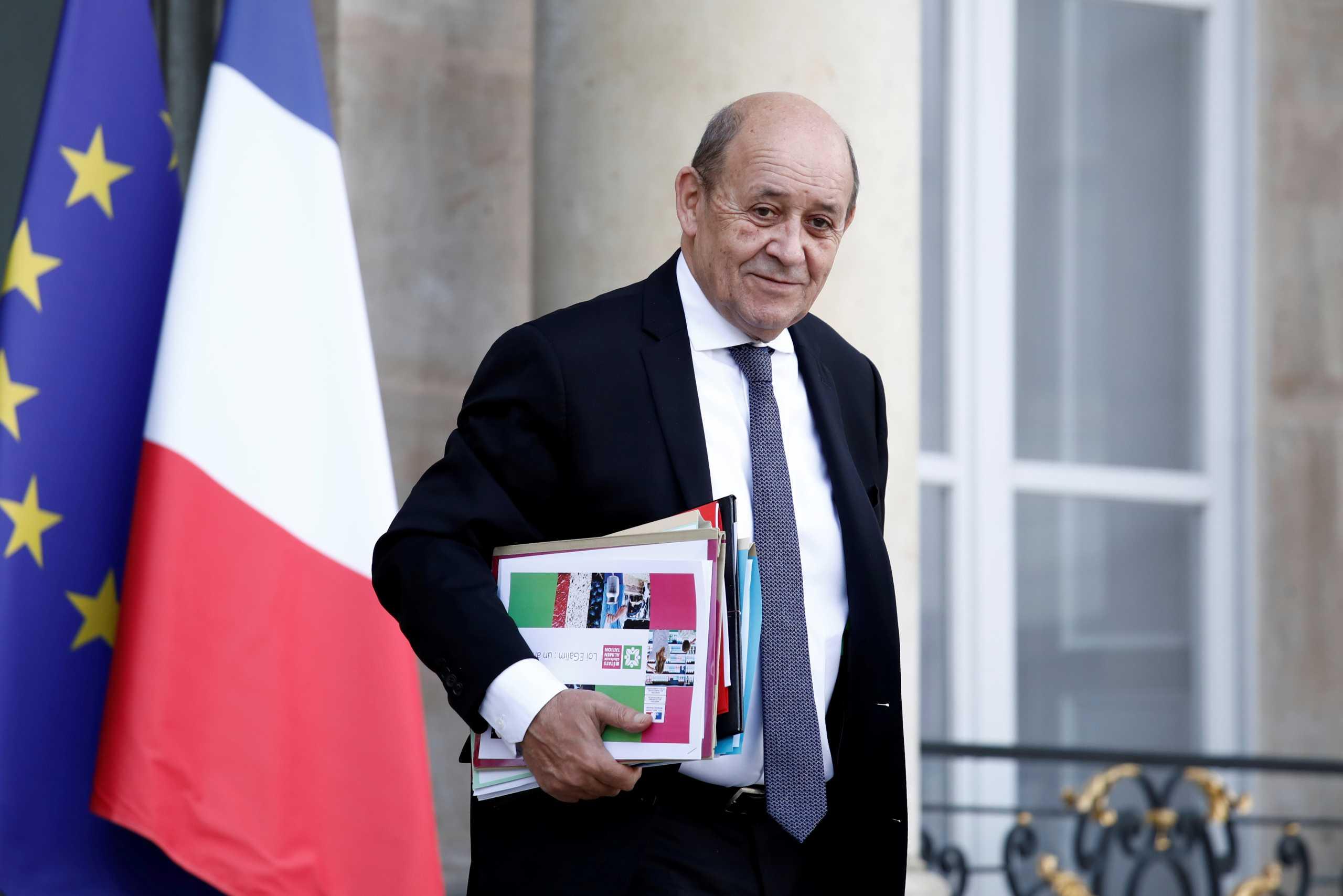 Λε Ντριάν: Η έξοδος από την κρίση Γαλλίας-ΗΠΑ θα πάρει χρόνο
