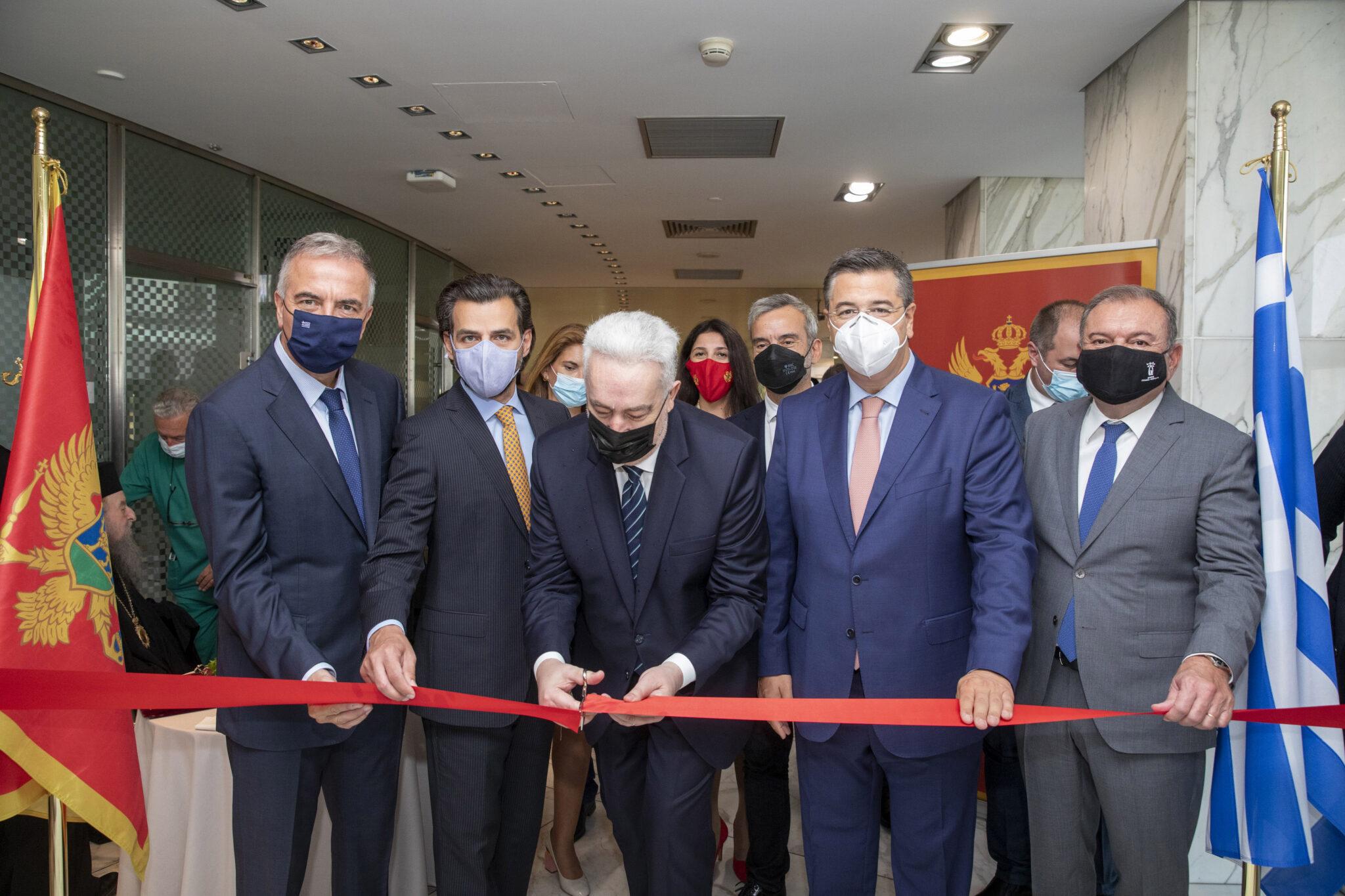 Ιστορικής Σημασίας Εγκαίνια στη Θεσσαλονίκη παρουσία του Πρωθυπουργού του Μαυροβουνίου – Επίτιμος Πρόξενος ο Δρ. Βασίλης Αποστολόπουλος