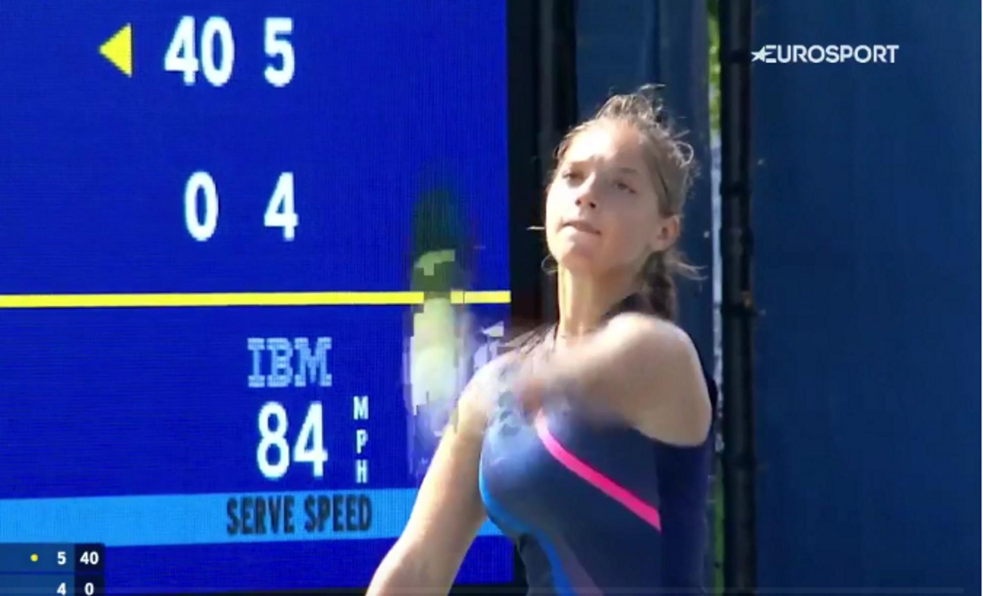 US Open: «Άγγιξε» τη νίκη η Μιχαέλα Λάκη κόντρα στο νο2 στα junior
