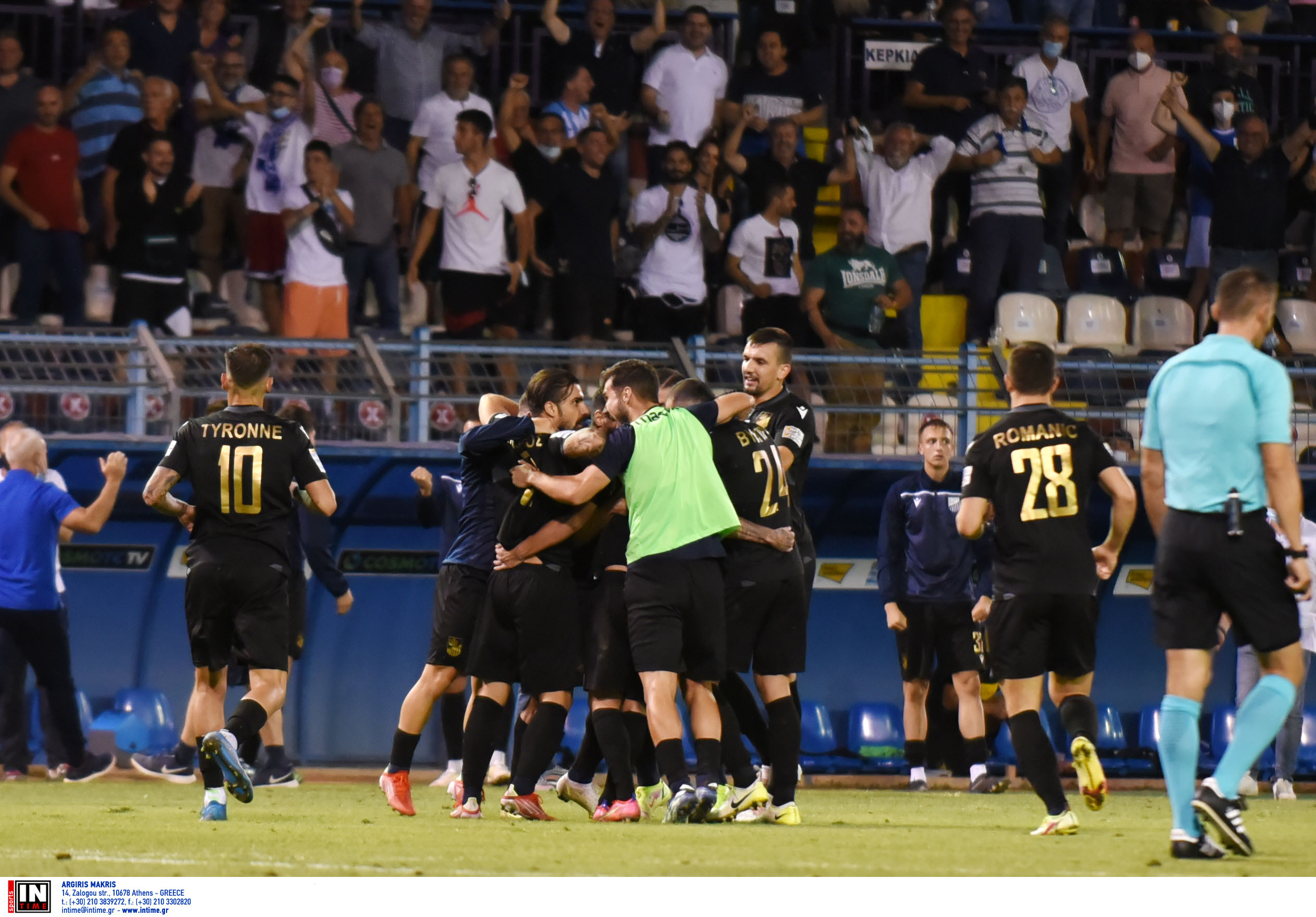 Superleague 1, Λαμία – Παναιτωλικός 2-2: «Μοιρασιά» στο φινάλε στο ΔΑΚ