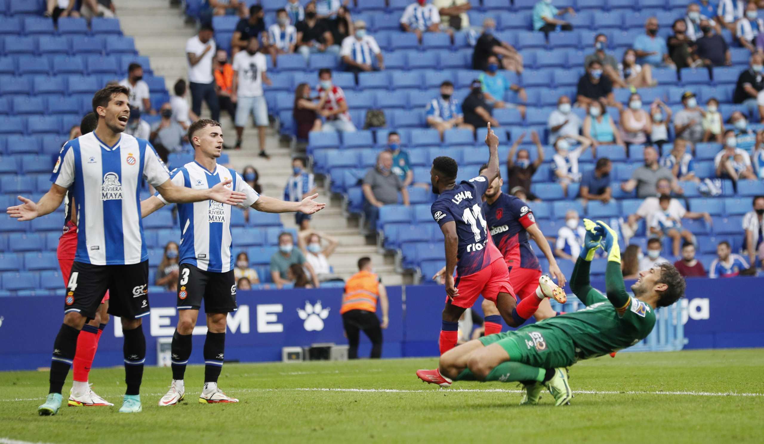 Η Ατλέτικο Μαδρίτης έκανε διπλό με γκολ στο 10ο λεπτό των καθυστερήσεων