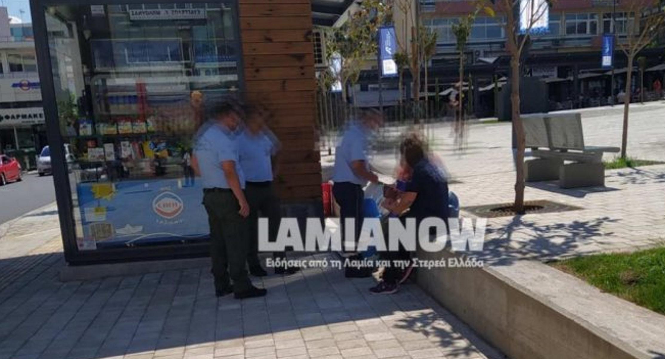 Λαμία: Μηχανάκι παρέσυρε γυναίκα που διέσχιζε διάβαση πεζών