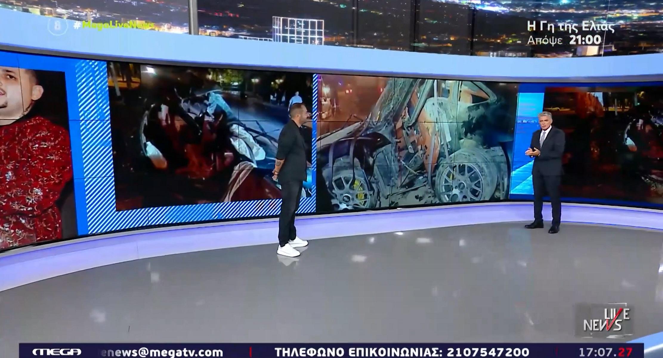 Mad Clip – Αντώνης Δημητριάδης στο Live News: Ήμουν λίγα λεπτά πίσω του – Η κολόνα σταμάτησε το αμάξι»