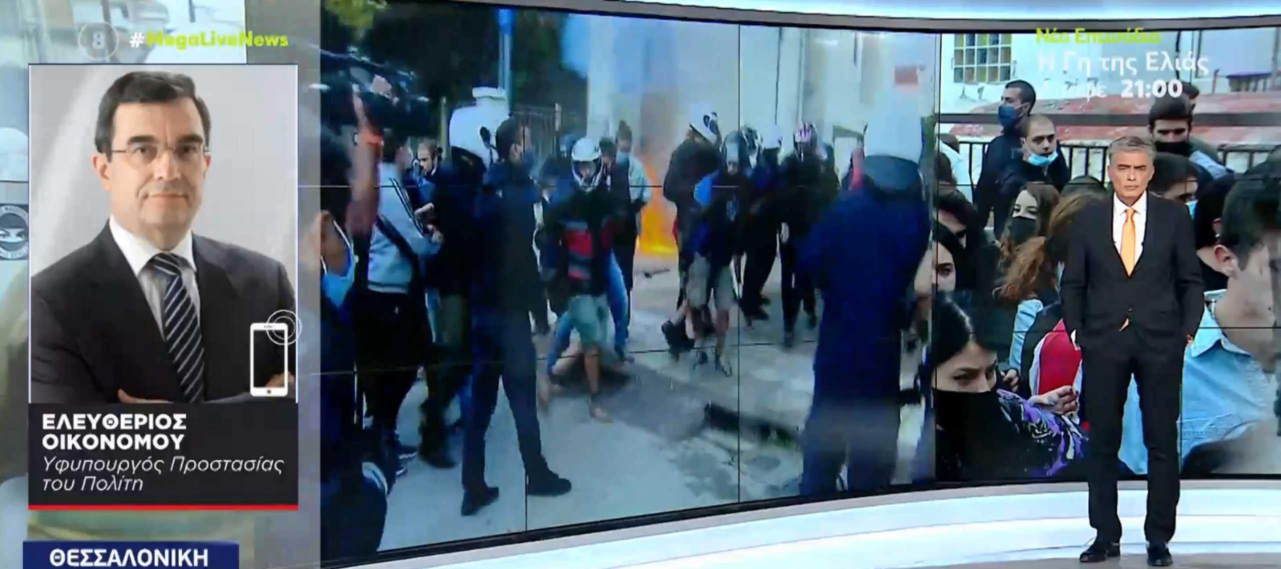 ΕΠΑΛ Σταυρούπολης – Λευτέρης Οικονόμου στο Live News: Μηδενική ανοχή σε ακραίες συμπεριφορές