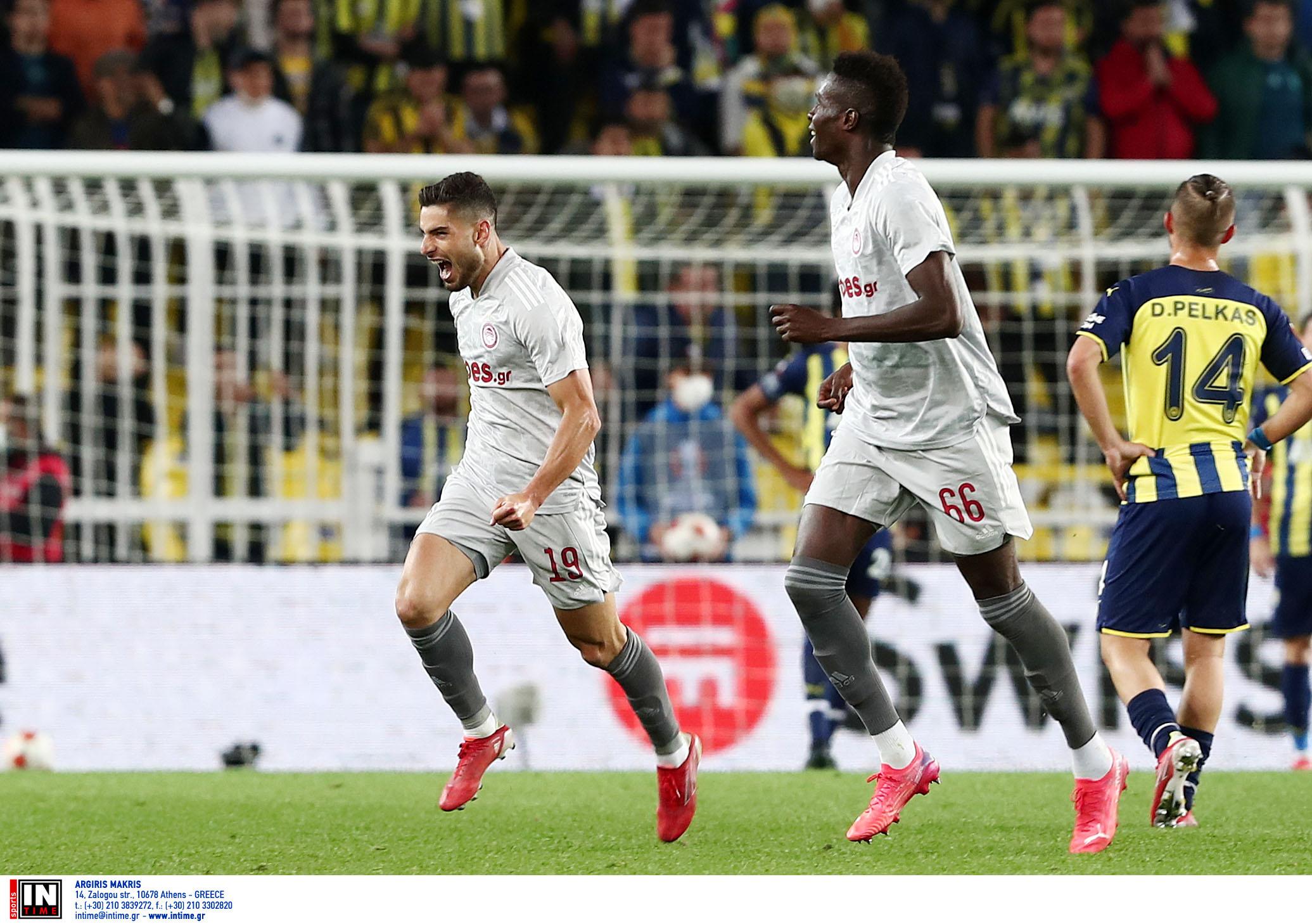 Europa League, Φενέρμπαχτσε – Ολυμπιακός 0-3: «Πορθητής» με Μασούρα