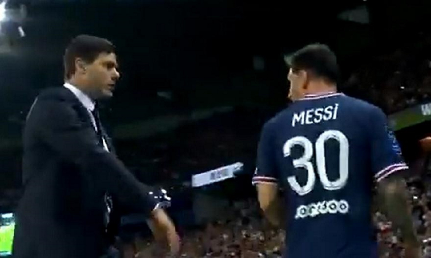Λιονέλ Μέσι: «Τρελάθηκε» με τον προπονητή του στην Παρί Σεν Ζερμέν όταν έγινε αλλαγή