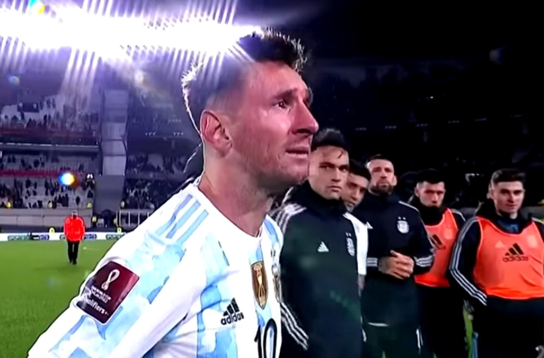 Λιονέλ Μέσι: Έκλαψε on camera στη φιέστα της Αργεντινής για την κατάκτηση του Copa America