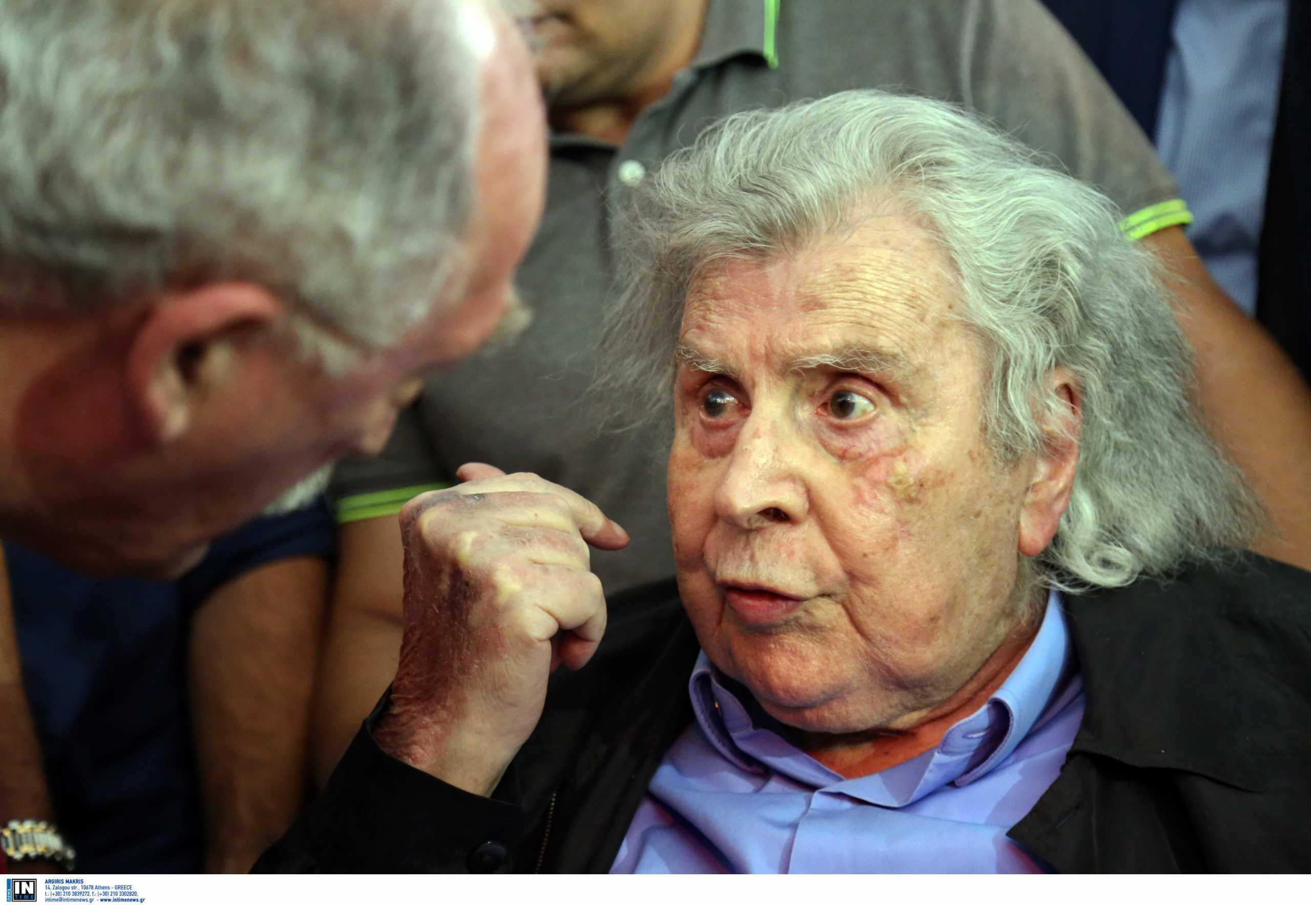 Μίκης Θεοδωράκης – ΠΑΕ ΑΕΚ: «Είχε κατακτήσει την αθανασία, πριν από τον θάνατο»
