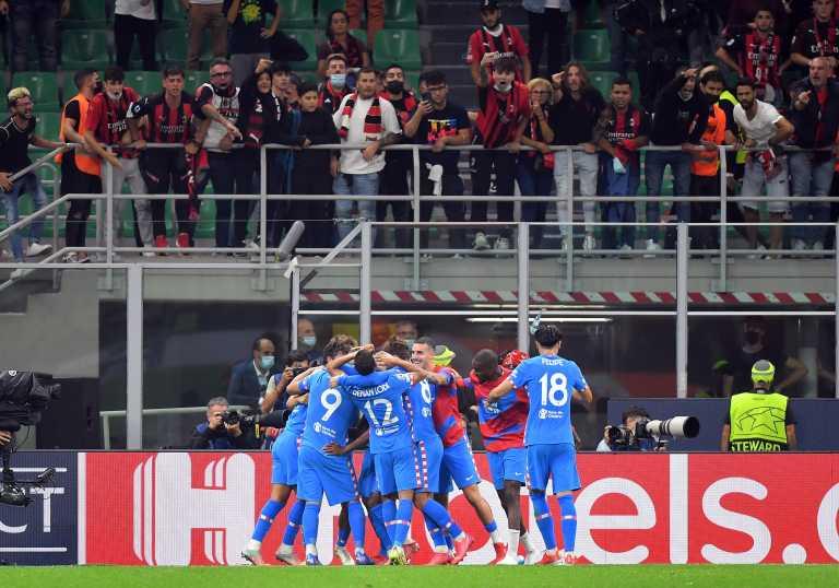 Champions League: «Έμφραγμα» στο φινάλε για την Μίλαν, «πάρτι» της Λίβερπουλ στο Ντραγκάο