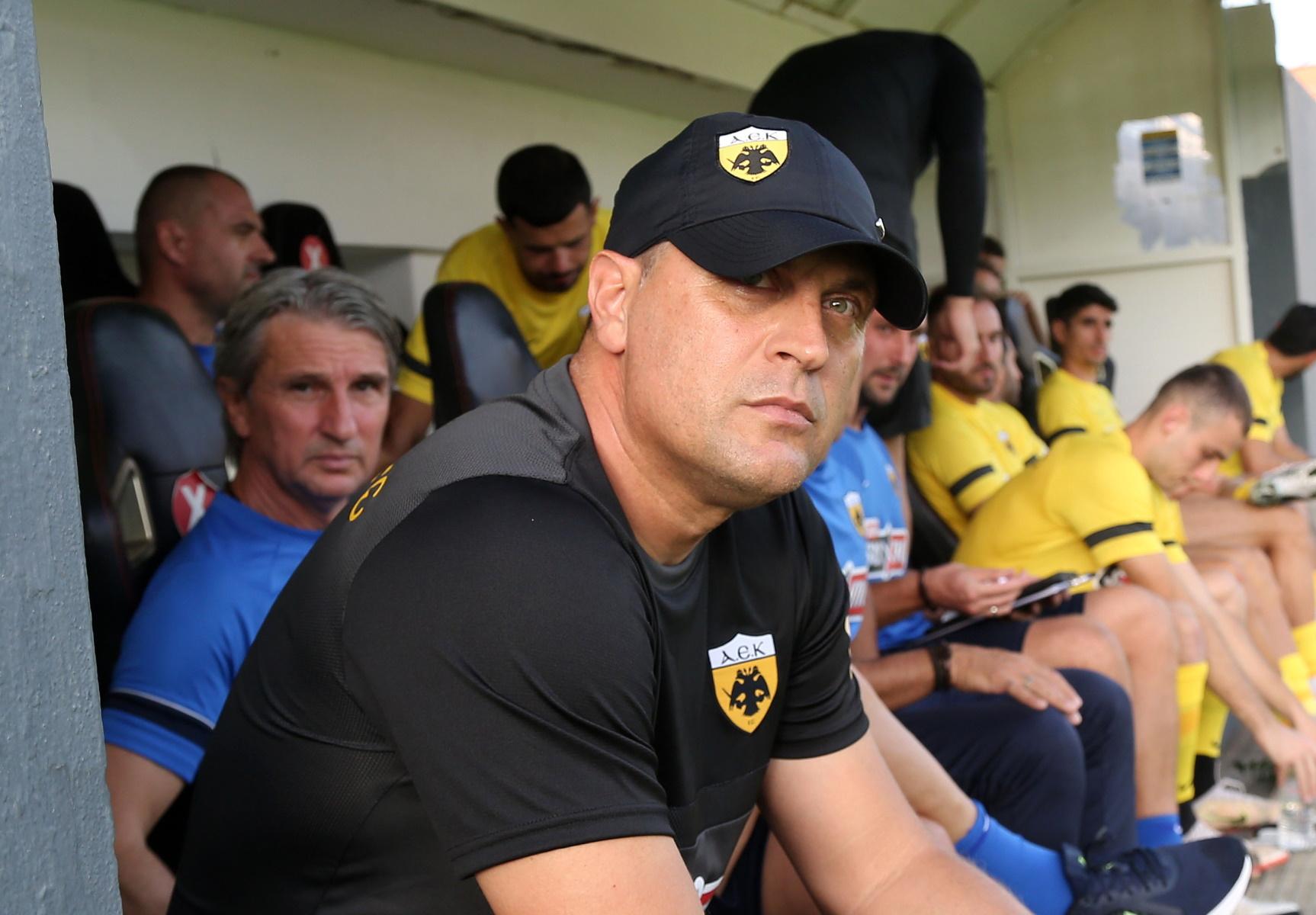 ΑΕΚ – Μιλόγεβιτς: «Έπαιξε ρόλο η φάση του φάουλ με ΟΦΗ, δεν ψάχνω δικαιολογίες»
