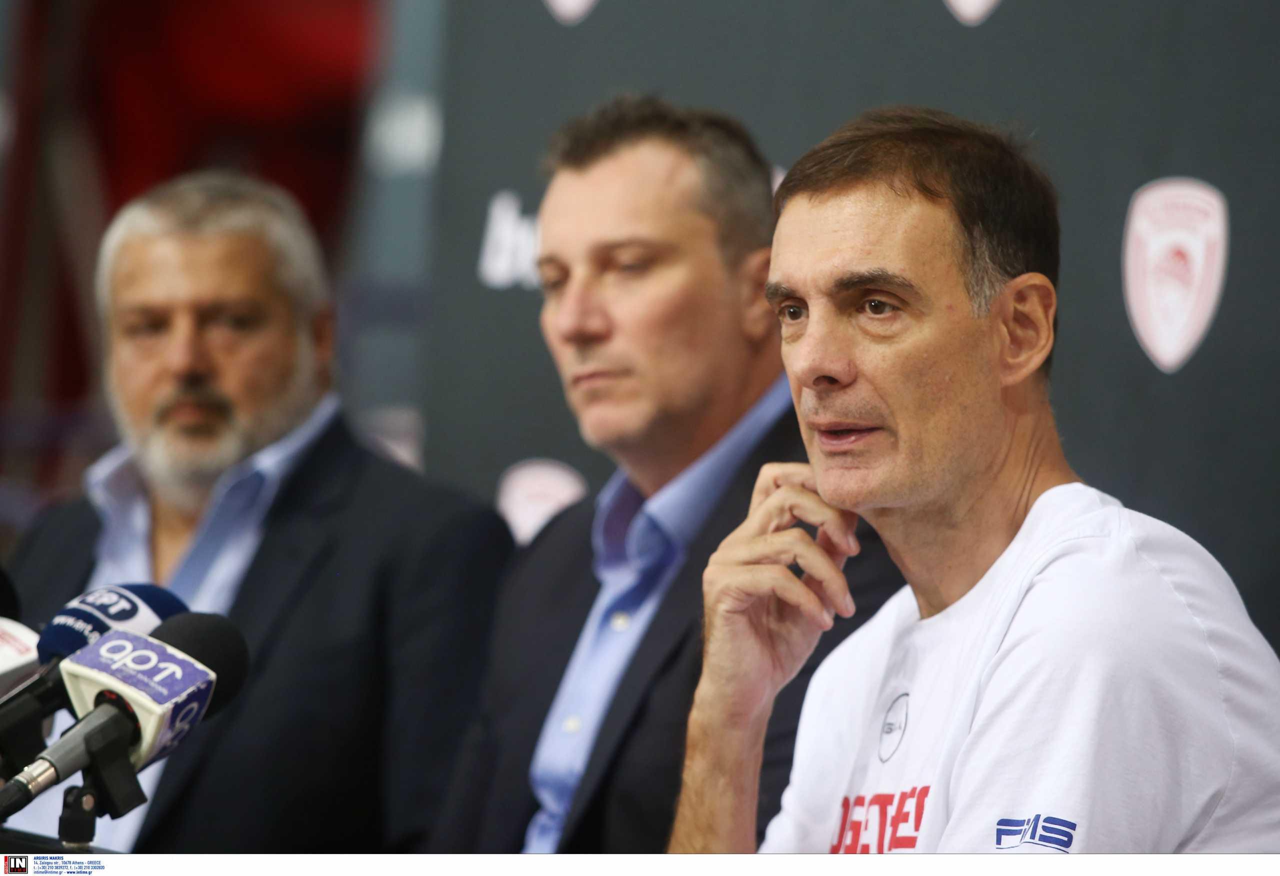 Ολυμπιακός, Γιώργος Μπαρτζώκας: «Είμαστε πιο ώριμοι και καλύτεροι, αλλά πρέπει να φανεί και στο γήπεδο»