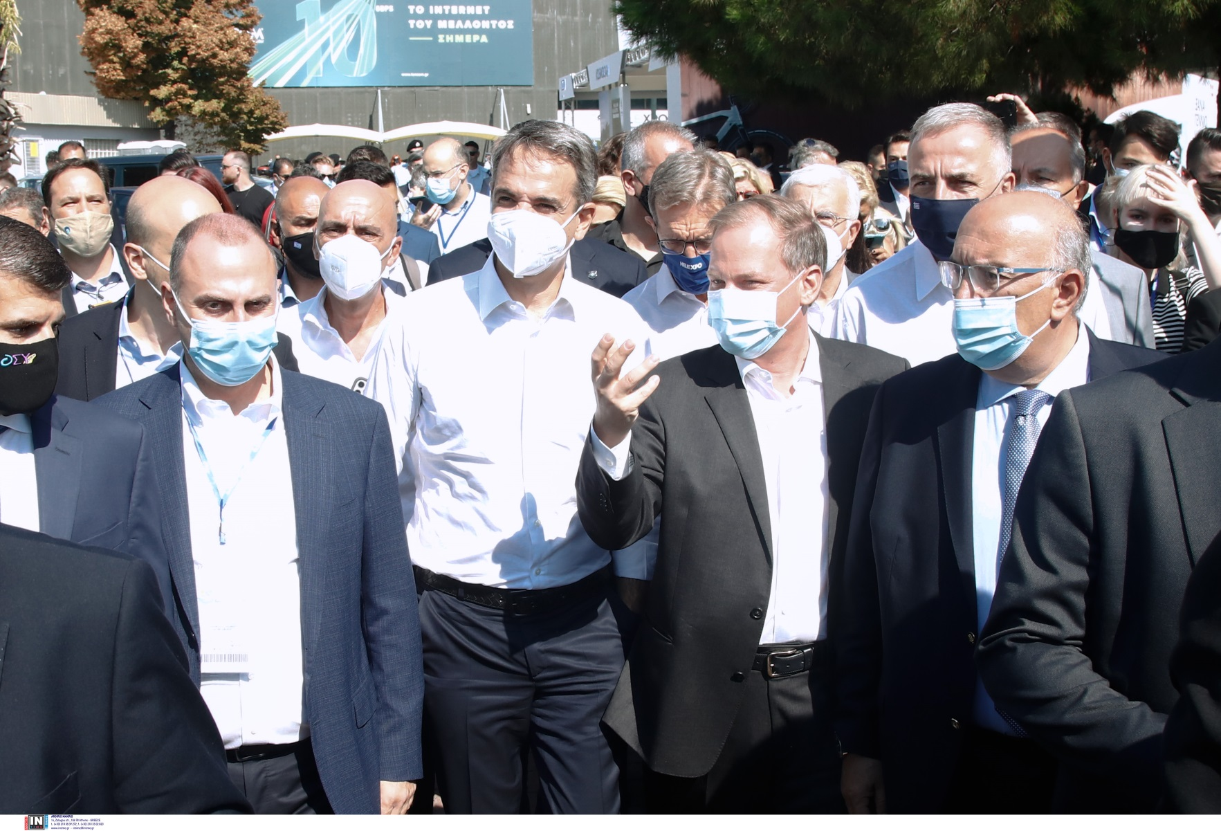 Κυριάκος Μητσοτάκης στη ΔΕΘ 2021: «Τέλη του 2023 η βασική γραμμή του Μετρό Θεσσαλονίκης»