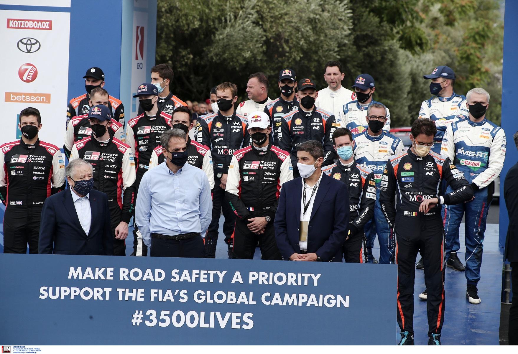 Ράλι Ακρόπολις 2021 – Κυριάκος Μητσοτάκης: O αγώνας «ήρθε για να μείνει»
