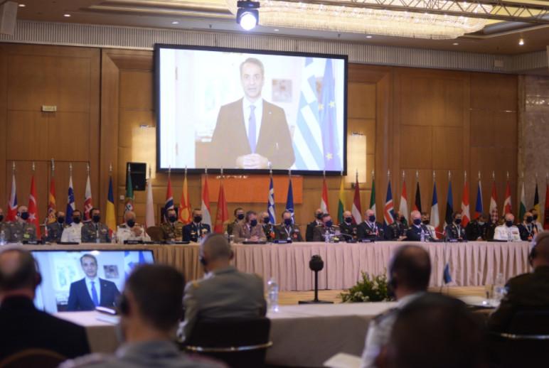 Στρατιωτική Επιτροπή NATO: Μήνυμα Μητσοτάκη για το ρόλο της Ελλάδας στην συμμαχία