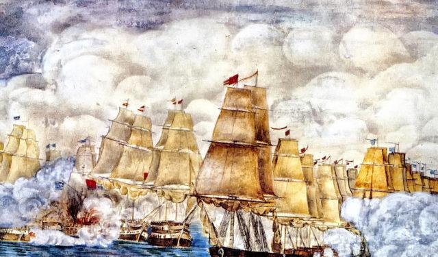 Ναυμαχία των Σπετσών: Ο θρυλικός θρίαμβος του ελληνικού στόλου!