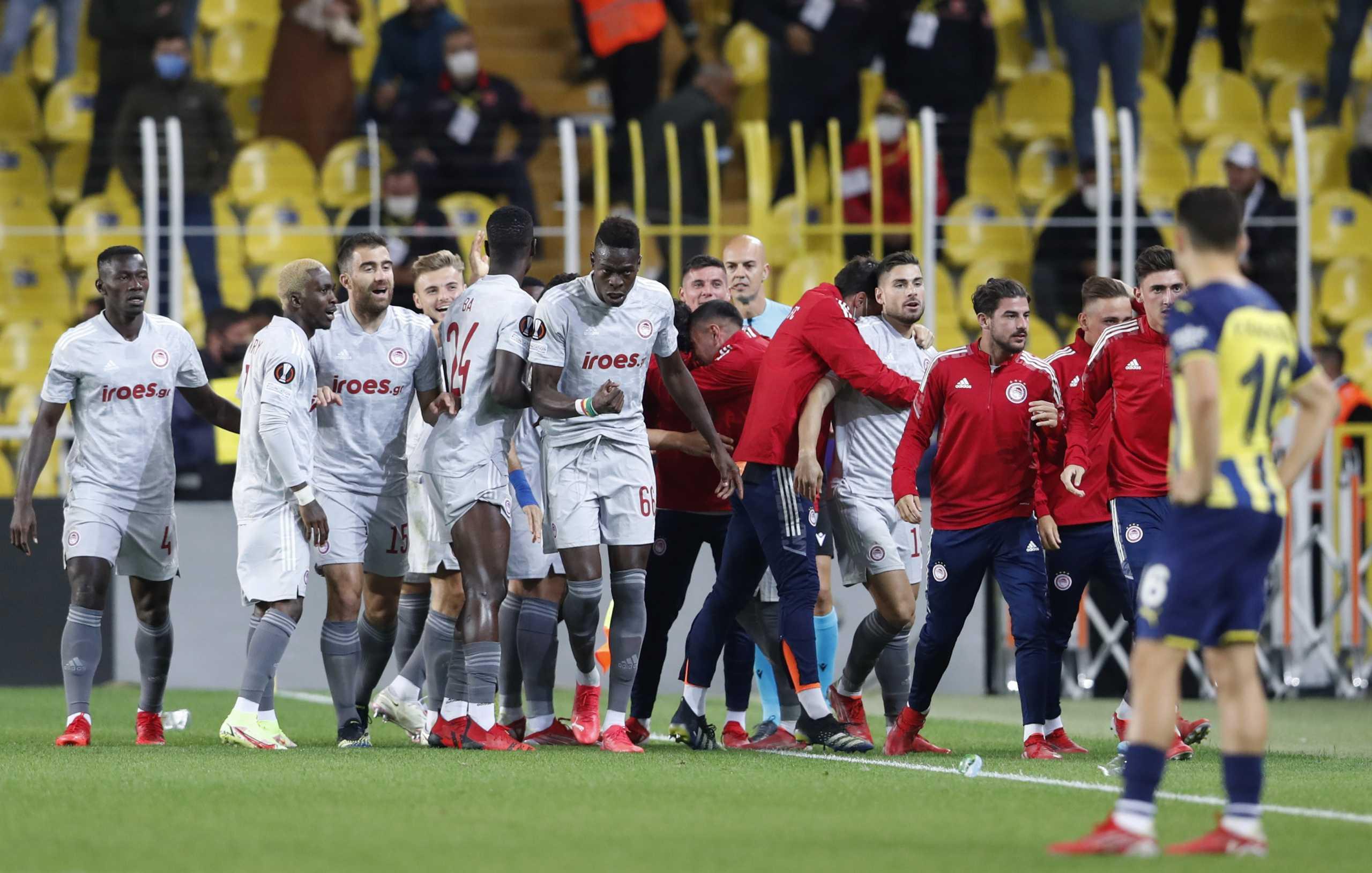 Φενέρμπαχτσε – Ολυμπιακός 0-3 ΤΕΛΙΚΟ: «Πάρτι» με Μασούρα