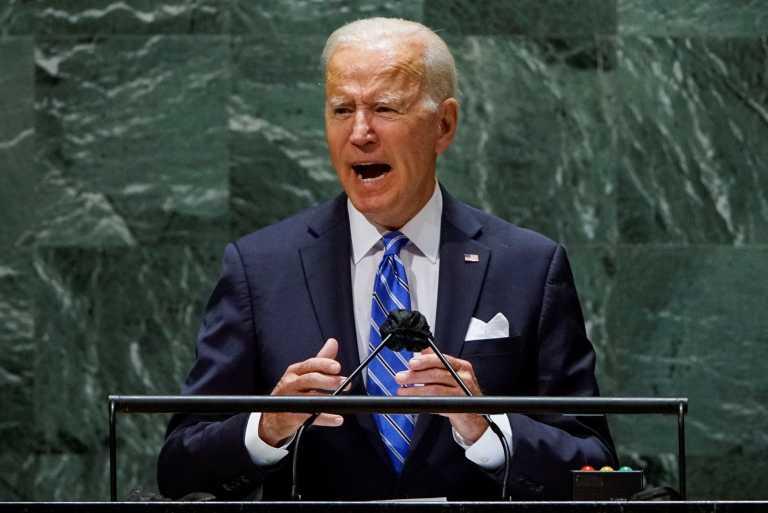 «Μήνυμα» Μπάιντεν στον ΟΗΕ: Δεν θέλω νέο Ψυχρό Πόλεμο, αλλά μια εποχή αδιάκοπης διπλωματίας!