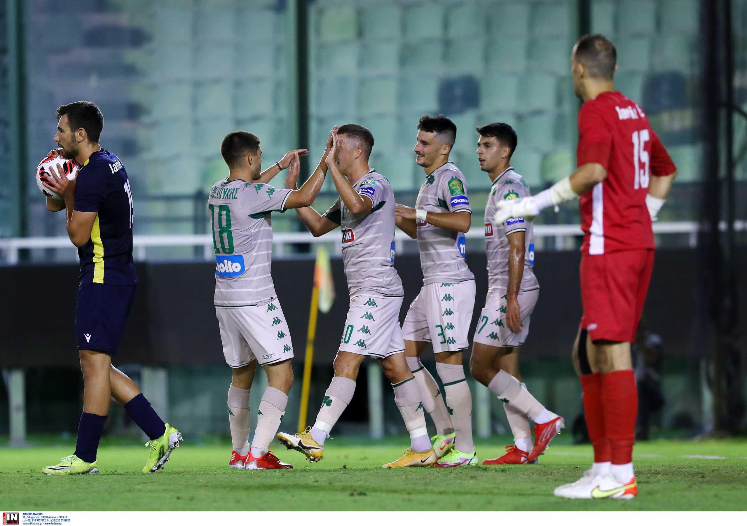 Παναθηναϊκός – Λαμία 3-2: Ανατροπή και πρώτη φιλική νίκη με γκολ στο φινάλε