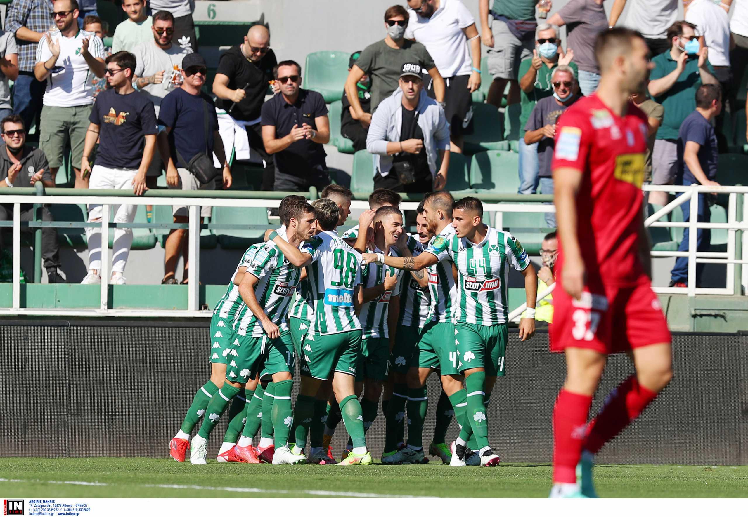 Superleague 1, Παναθηναϊκός – Βόλος 5-1: «Ξέσπασμα» και επιστροφή στις νίκες για το «τριφύλλι»