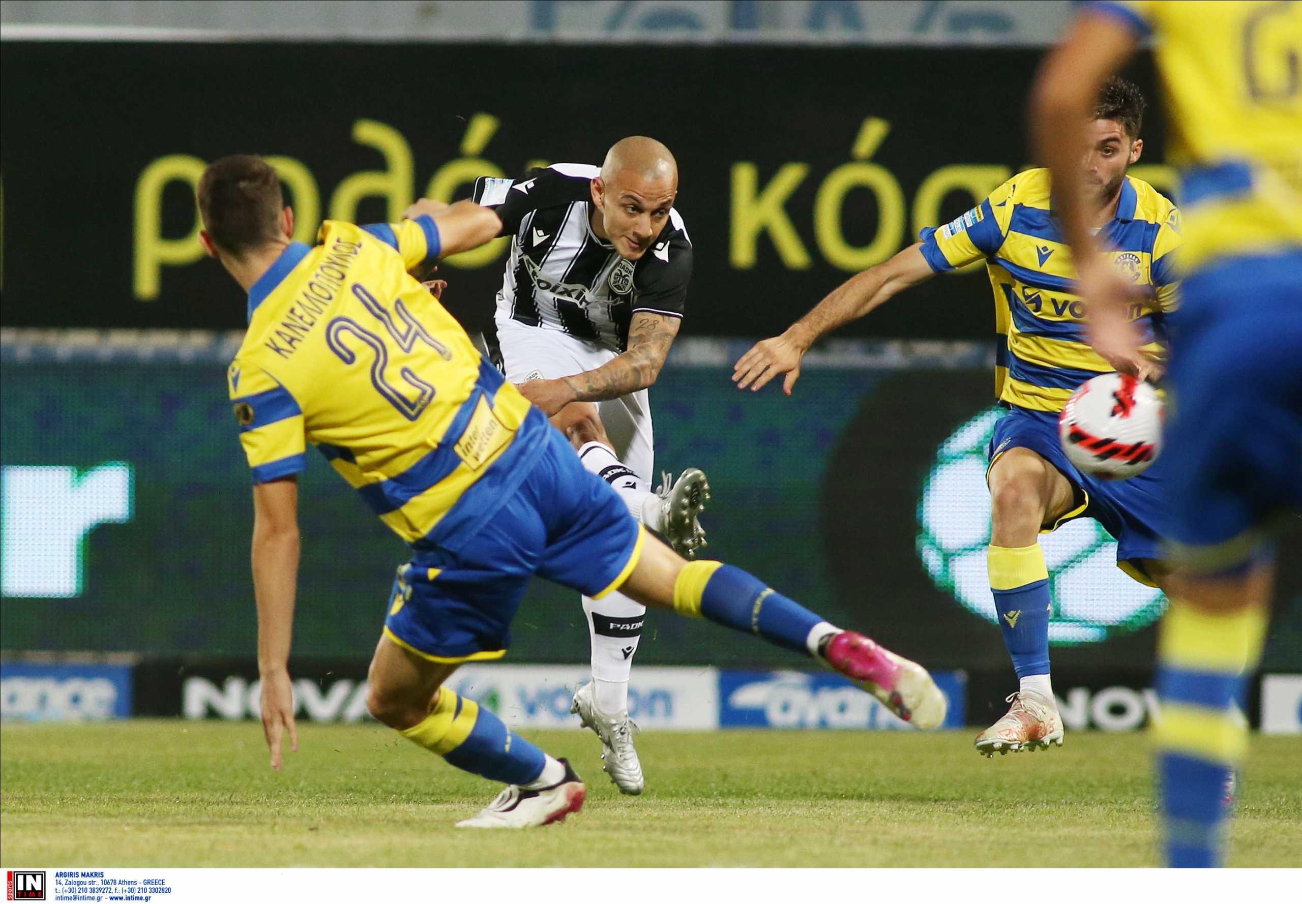 Αστέρας Τρίπολης – ΠΑΟΚ 0-1 ΤΕΛΙΚΟ: «Απόδραση» για τους Θεσσαλονικείς