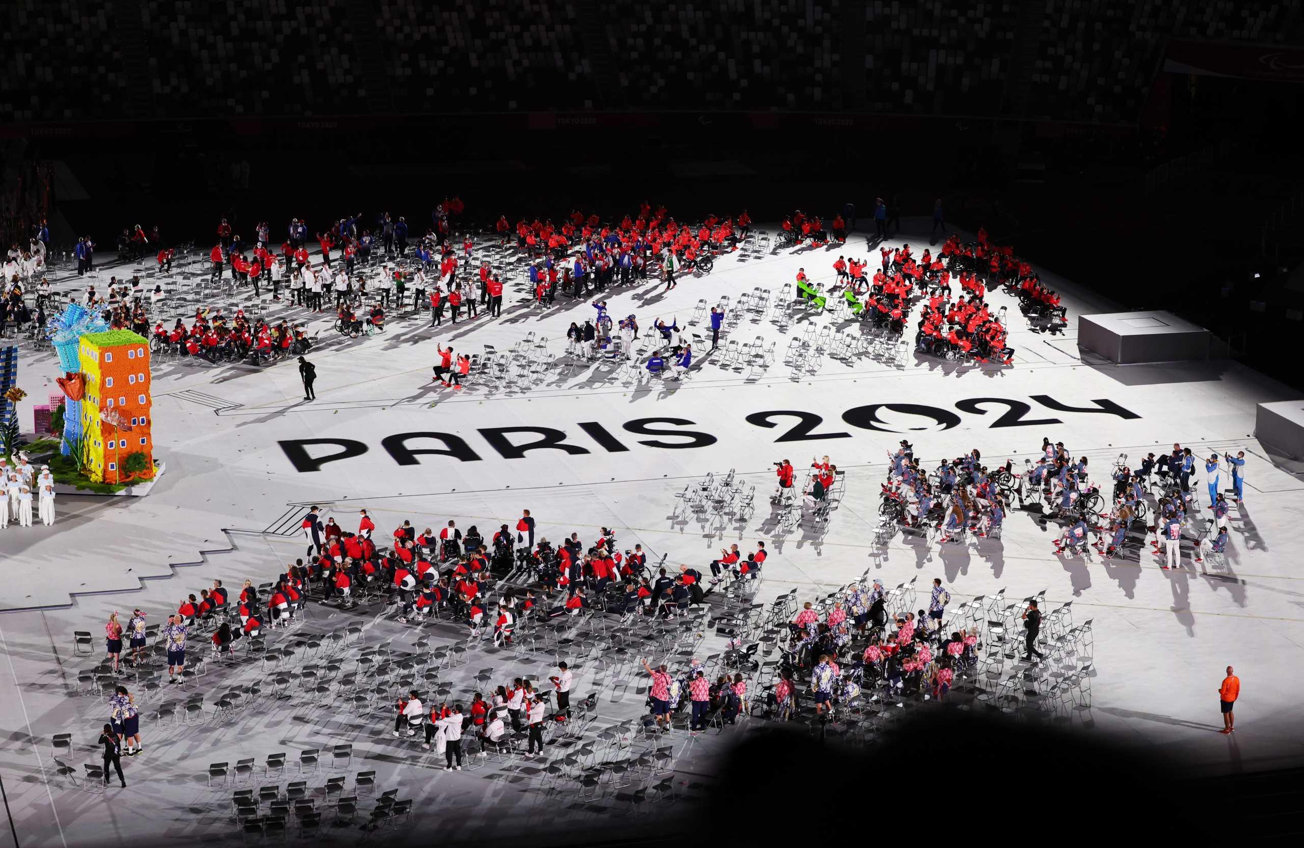 Παραολυμπιακοί Αγώνες: Εντυπωσιακή χορογραφία προμήνυμα για Παρίσι στην τελετή λήξης