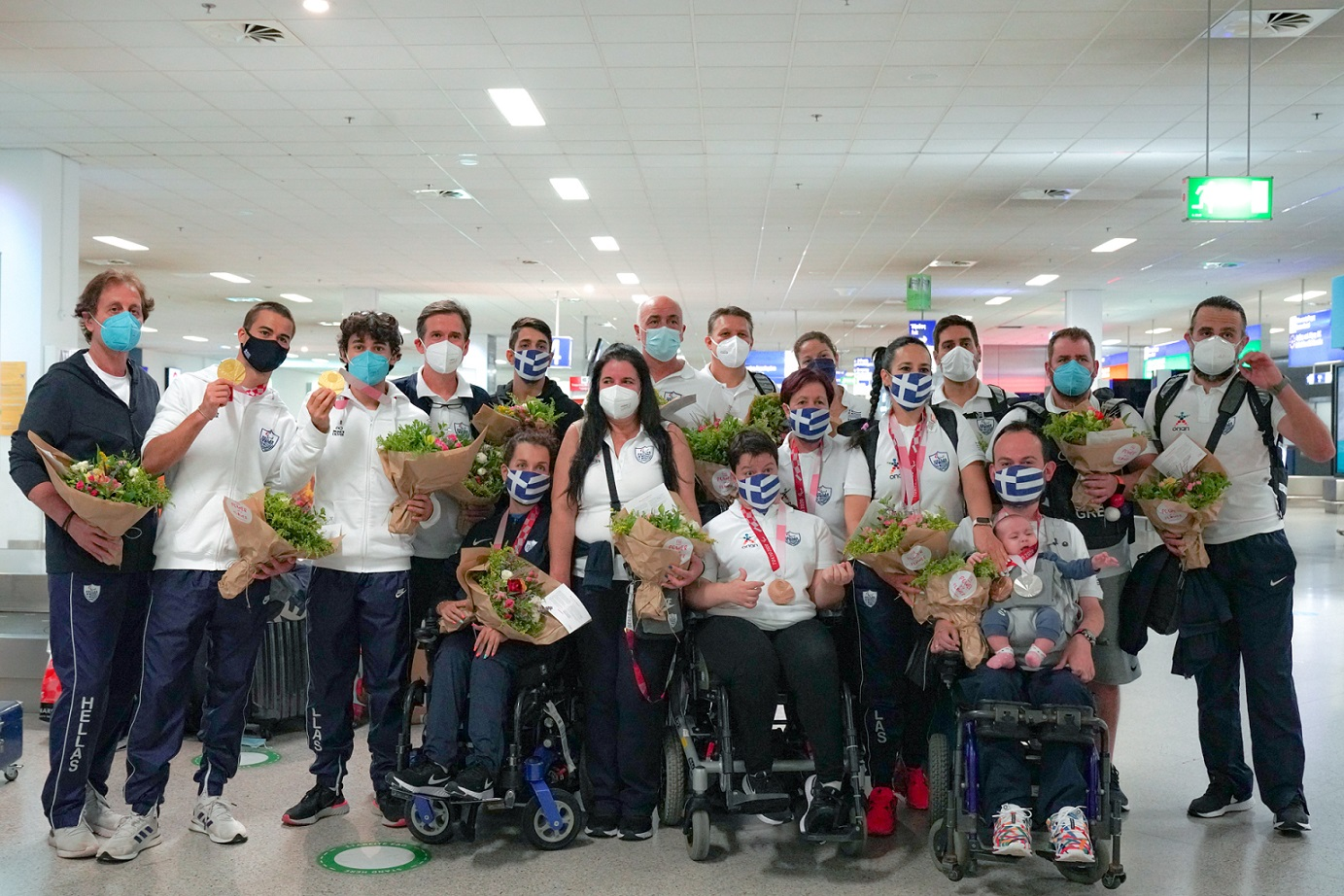 Με 11 μετάλλια η Ελληνική Παραολυμπιακή Ομάδα από το Τόκιο – Συγχαρητήρια από τον ΟΠΑΠ στους 44 αθλητές