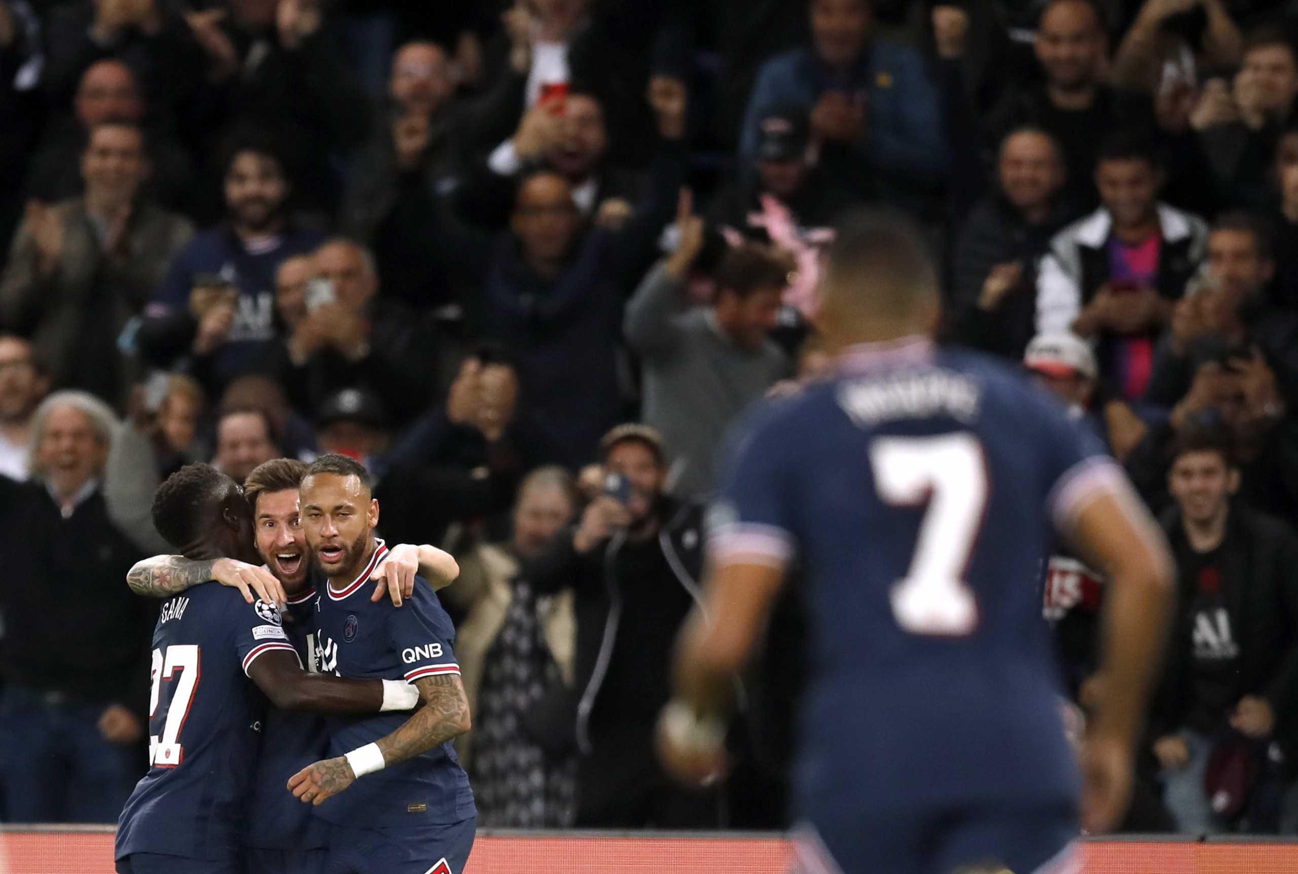 Champions League, Παρί – Σίτι 2-0, Λειψία – Μπριζ 1-2 – Ο Μέσι έκρινε το ντέρμπι, «μάγεψαν» οι Βέλγοι