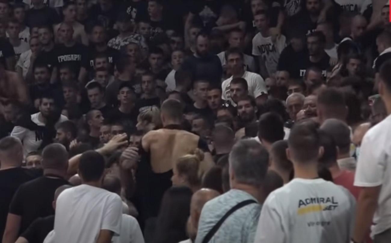 Ντούσαν Ίβκοβιτς: Οπαδοί της Παρτιζάν πλακώθηκαν στο «αντίο» στον Ντούντα