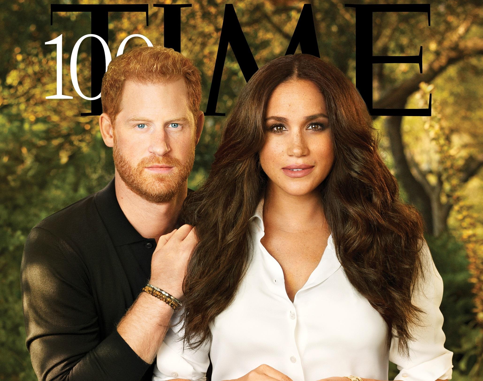 Περιοδικό Time: Ο Χάρι και η Μέγκαν στους 100 πιο επιδραστικούς ανθρώπους στον κόσμο
