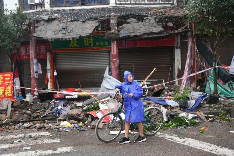 Σεισμός στην Κίνα: Τουλάχιστον τρεις οι νεκροί