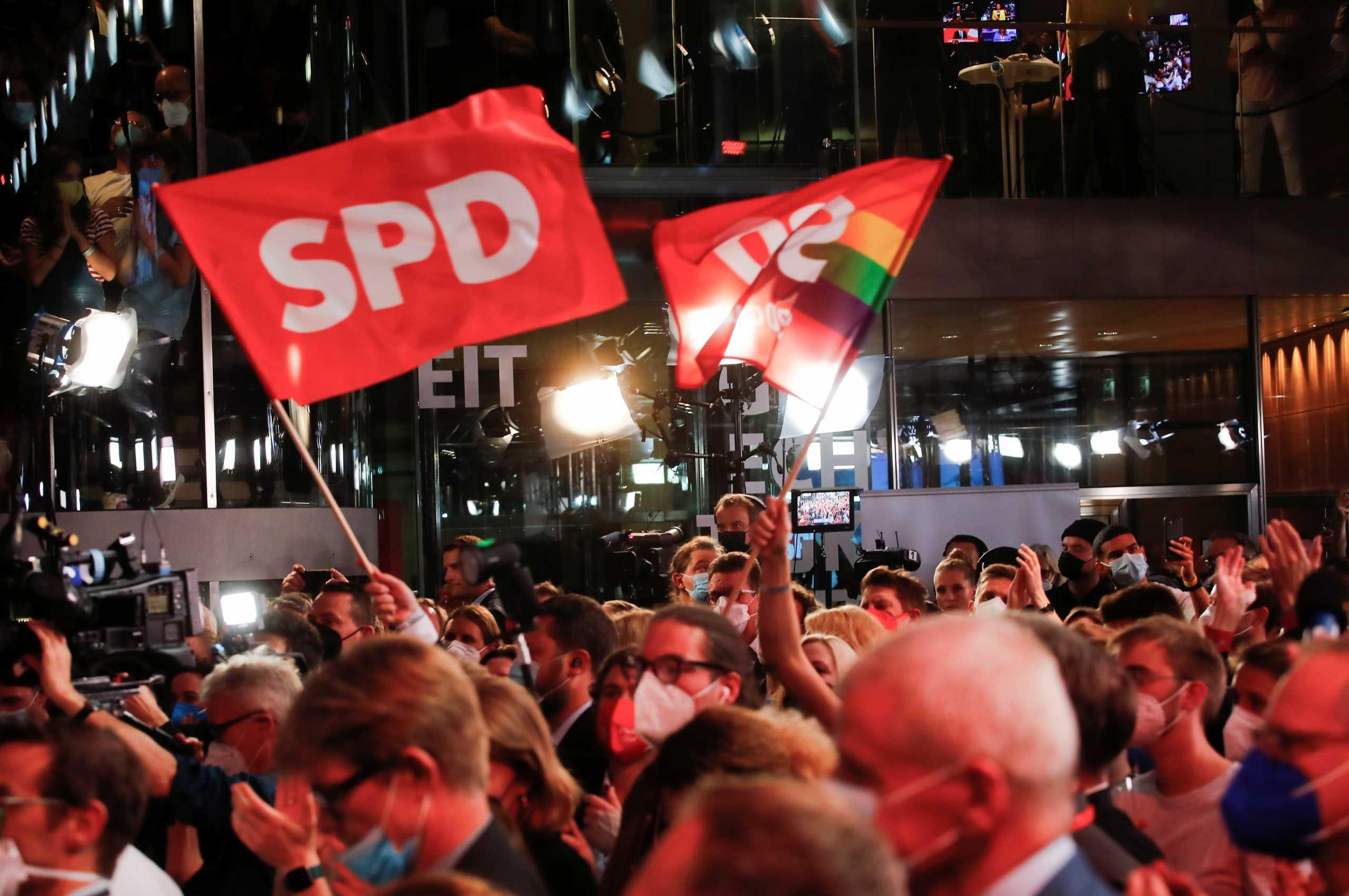 Γερμανικές εκλογές: «Μάχη» CDU/CSU και SPD – Άρμιν Λάσετ ή Όλαφ Σολτς ο διάδοχος της Μέρκελ