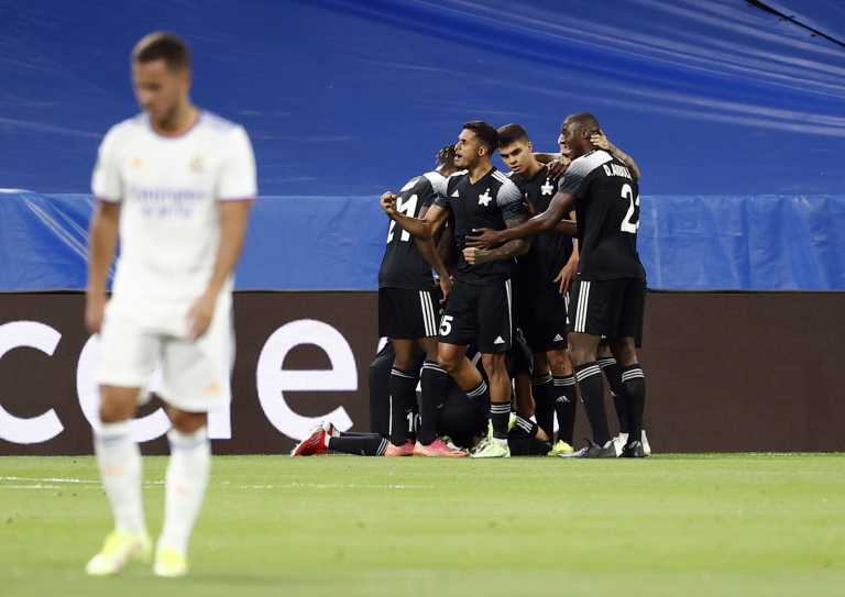 Champions League: Η «ελληνική» Σέριφ «παγώνει» το Μπερναμπέου και προηγείται της Ρεάλ