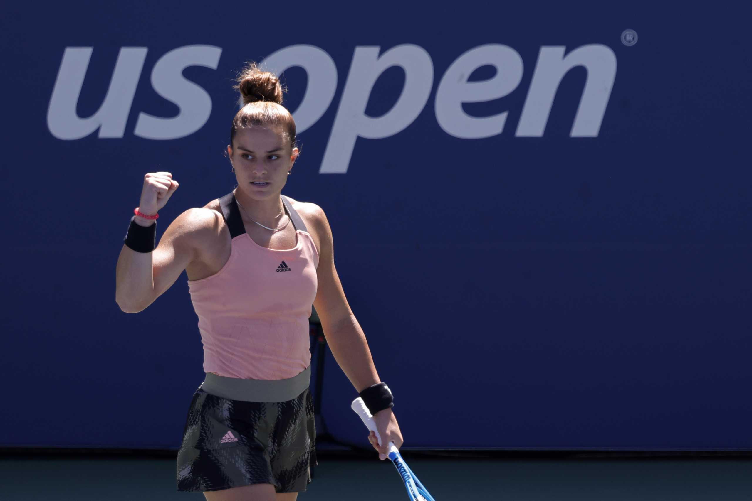 Πέτρα Κβίτοβα – Μαρία Σάκκαρη 0-2: «Σκόρπισε» το Νο 11 στον κόσμο και πέρασε ξανά στους «16» του US Open