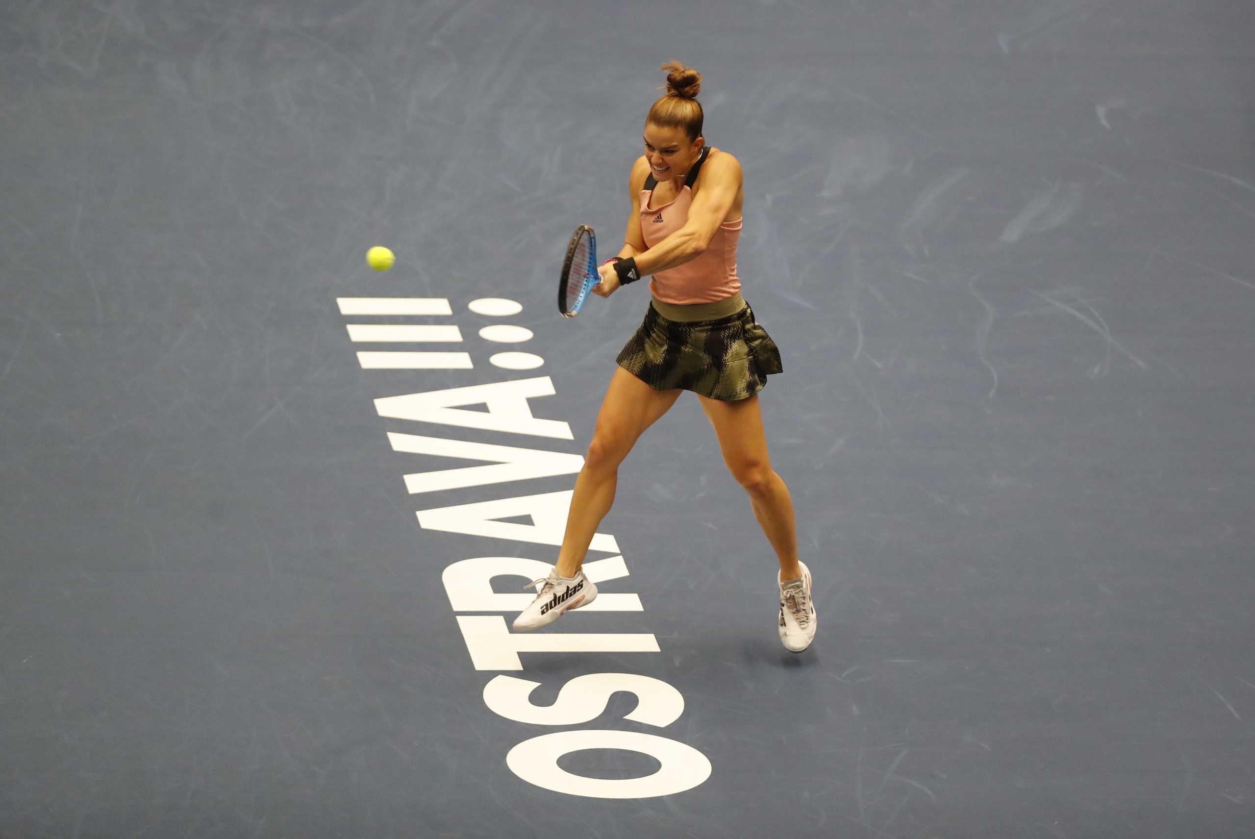 Μαρία Σάκκαρη – Ανέτ Κονταβέιτ 0-2: «Λύγισε» στον τελικό η Ελληνίδα