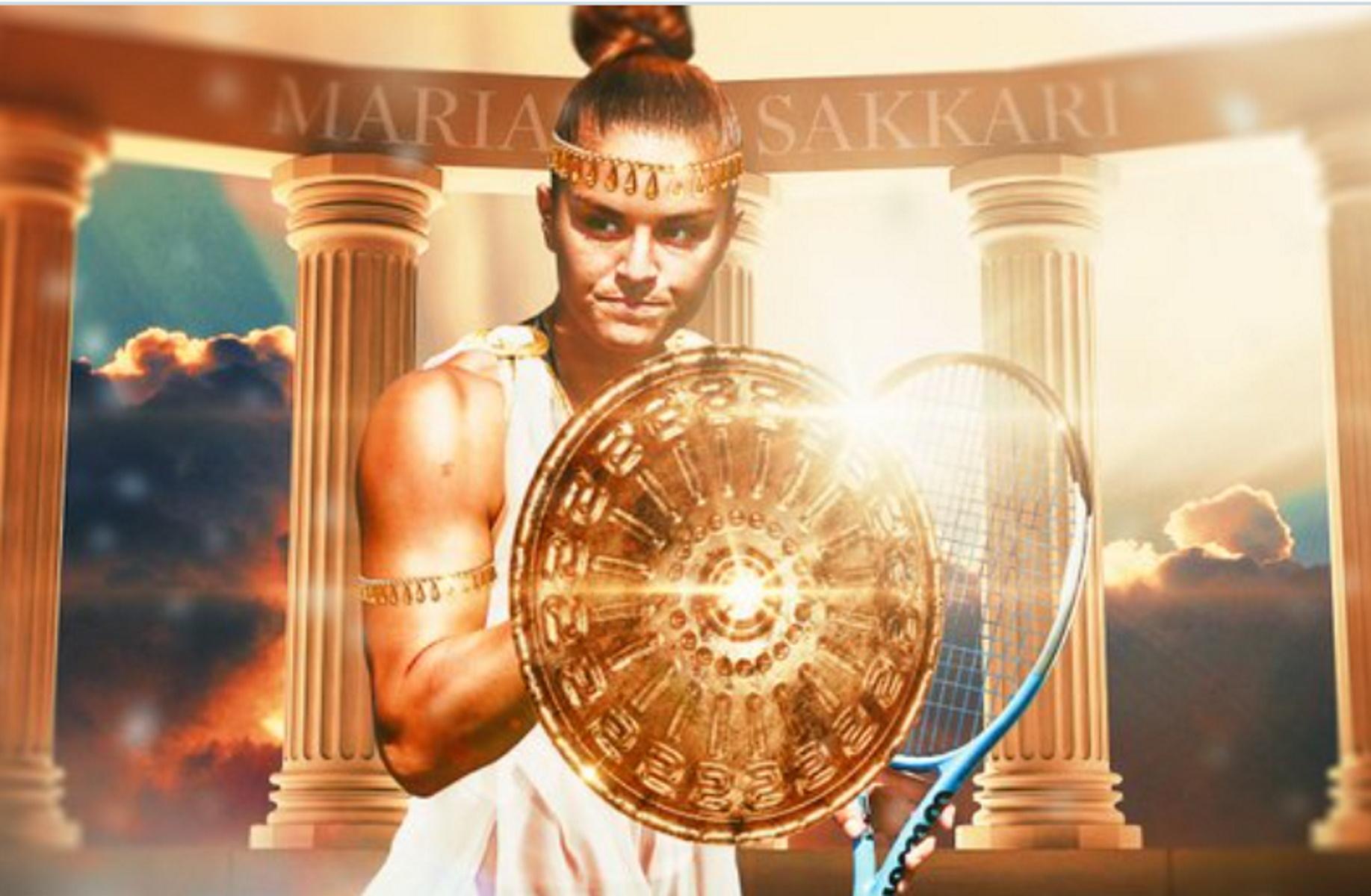 Το US Open «υποκλίνεται» στην Μαρία Σάκκαρη – Η Ελληνίδα πολεμίστρια και η «μάχη για τους αιώνες»