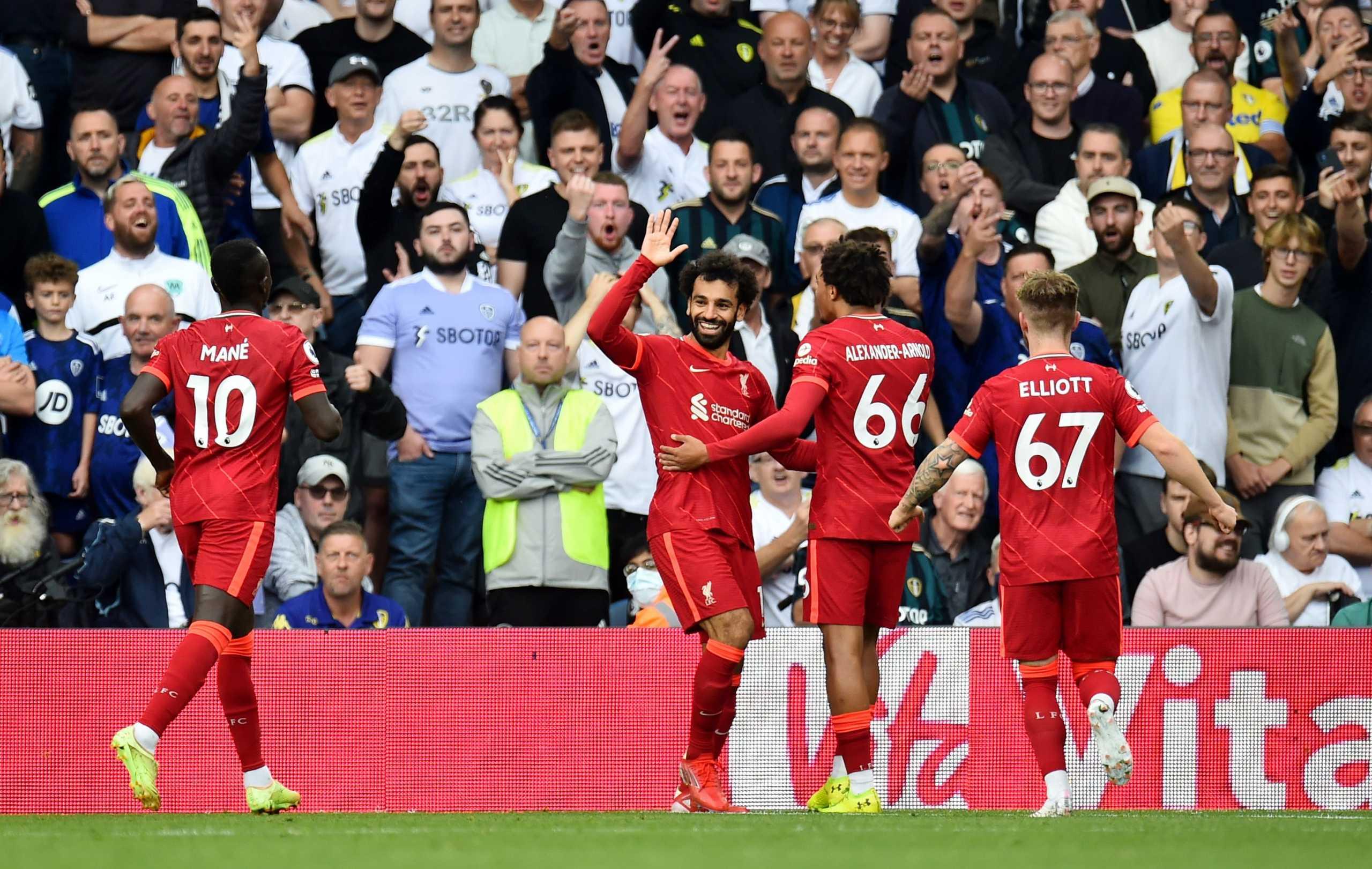 Premier League: Τριάρα της Λίβερπουλ με ιστορικό Σαλάχ