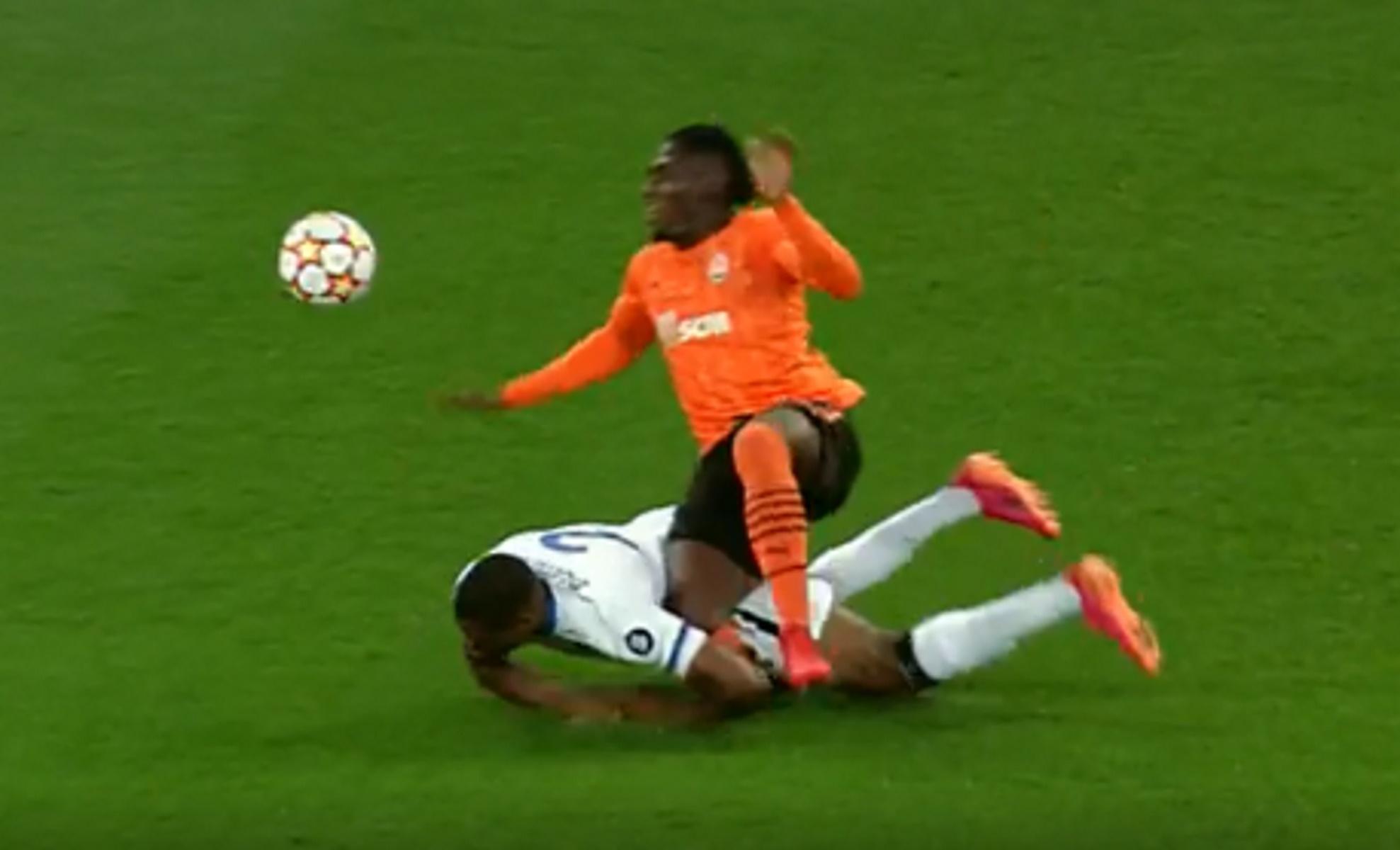 Champions League, Σαχτάρ – Ίντερ: Ο σοκαριστικός τραυματισμός του Τραορέ
