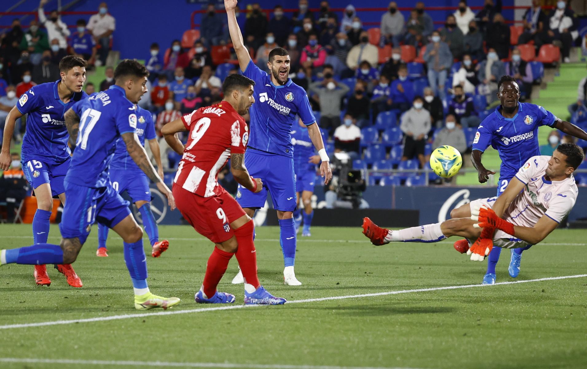 Χετάφε – Ατλέτικο Μαδρίτης 1-2: «Απόδραση» με Σουάρες και γκολ στο 90+2′