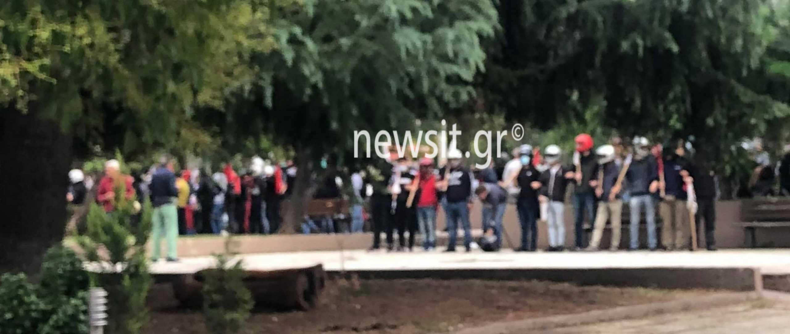 Θεσσαλονίκη – Επεισόδια στο ΕΠΑΛ Σταυρούπολης: Στο αυτόφωρο τέσσερις από τους συλληφθέντες