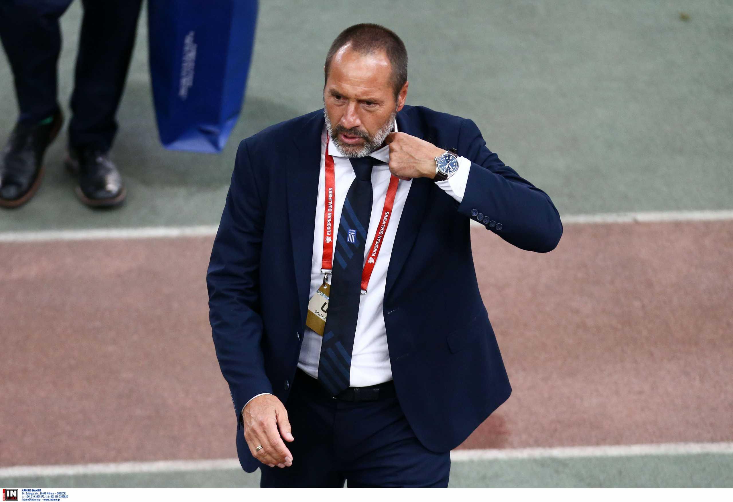 Εθνική Ελλάδας: Οι δηλώσεις του Φαν' τ Σιπ ενόψει των ματς με Σουηδία και Γεωργία