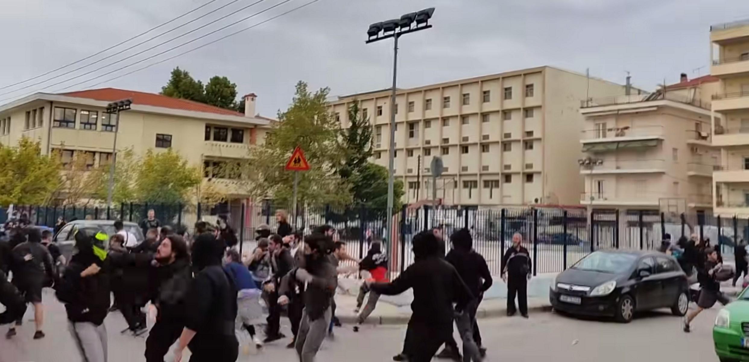 ΕΠΑΛ Σταυρούπολης: Τι λένε μαθητές για τα άγρια επεισόδια – «Μας έλεγαν ναζιστές»