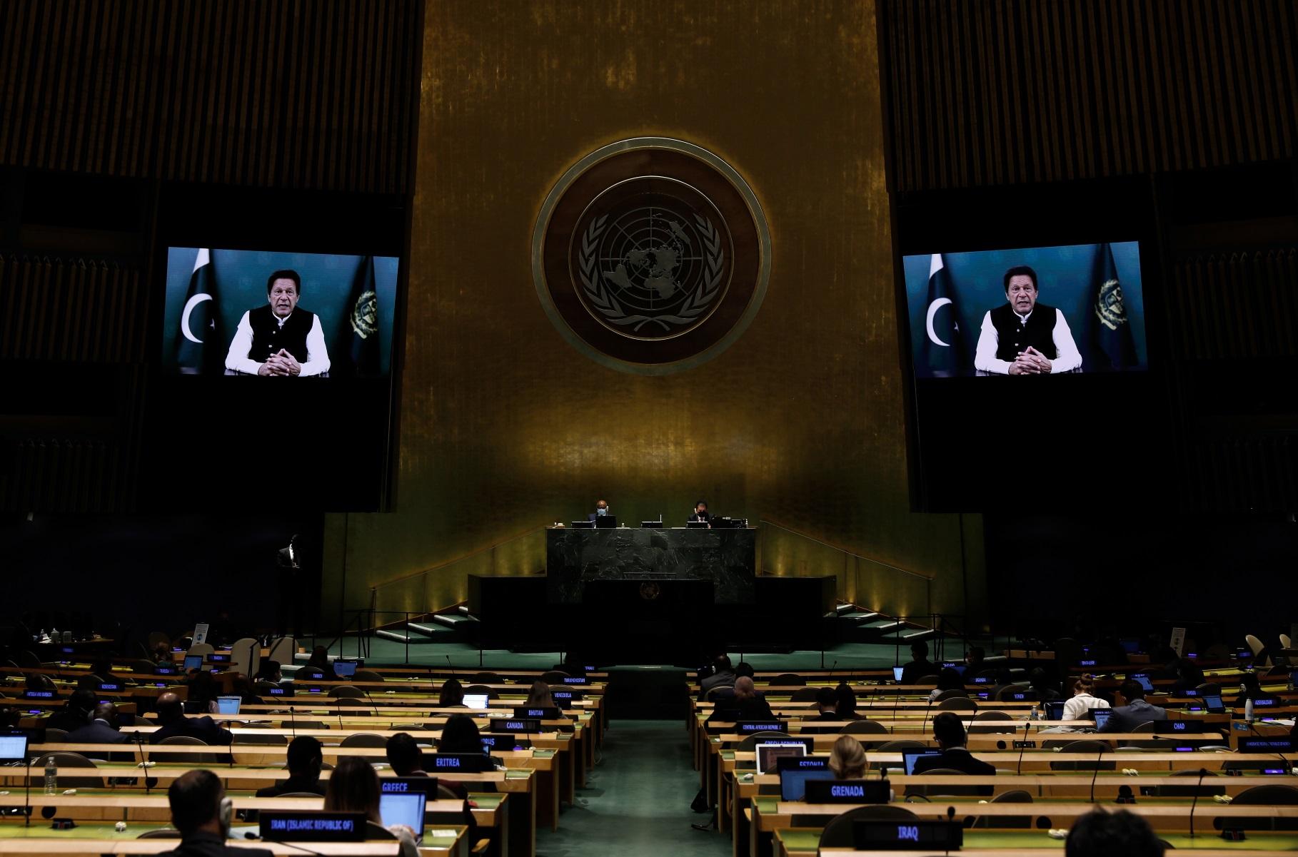 Γενική Συνέλευση ΟΗΕ: Ισλαμαμπάντ και Νέο Δελχί ανταλλάσσουν πυρά για εξτρεμισμό