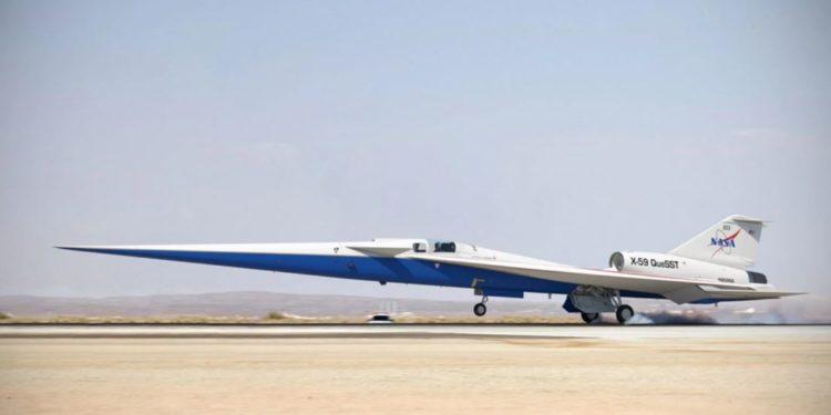 X-59: «Παίρνει σάρκα και οστά» το πειραματικό υπερηχητικό αεροπλάνο της Lockheed!