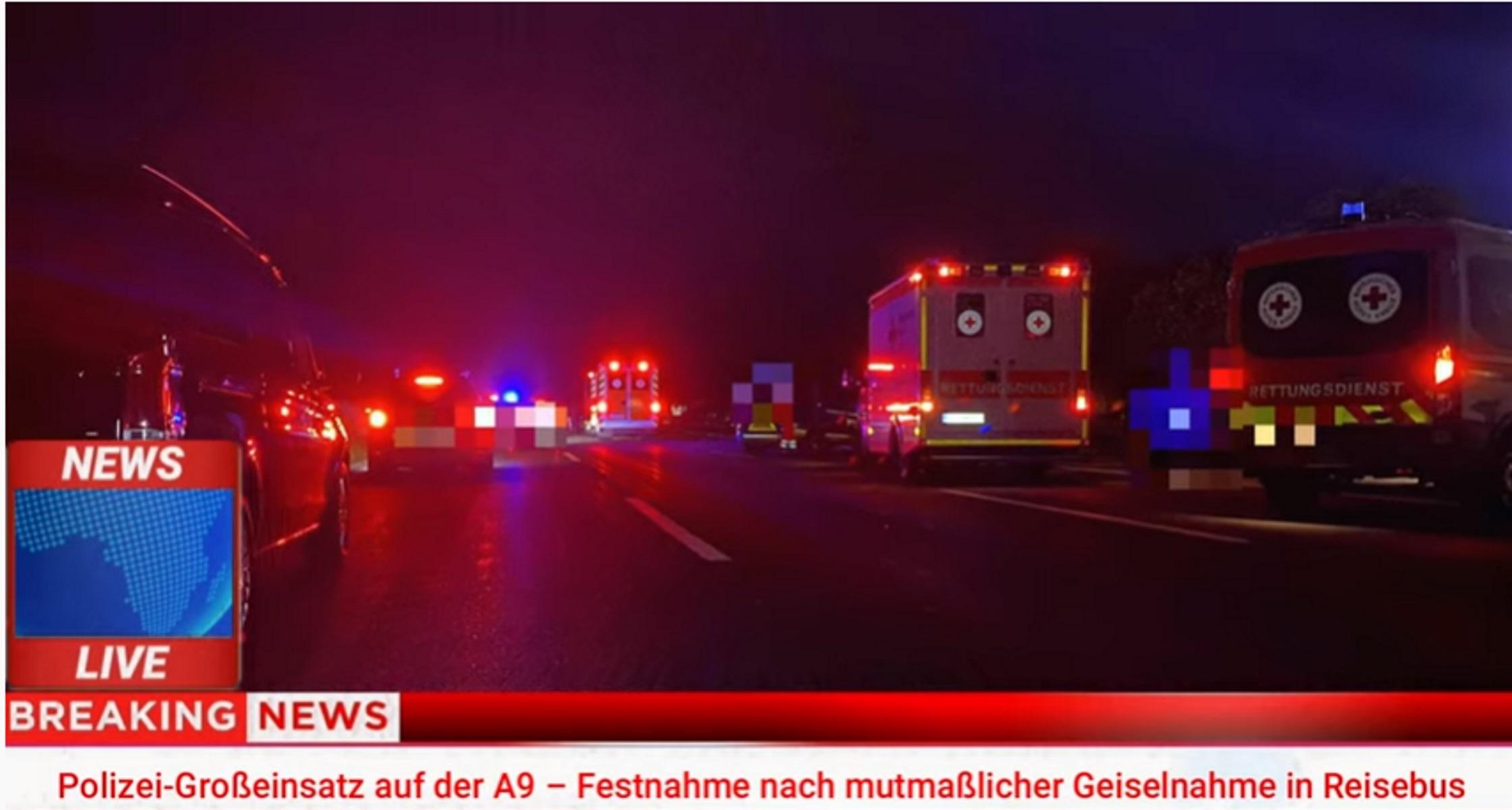 Γερμανία: Ένοπλος σε λεωφορείο – Δύο όμηροι